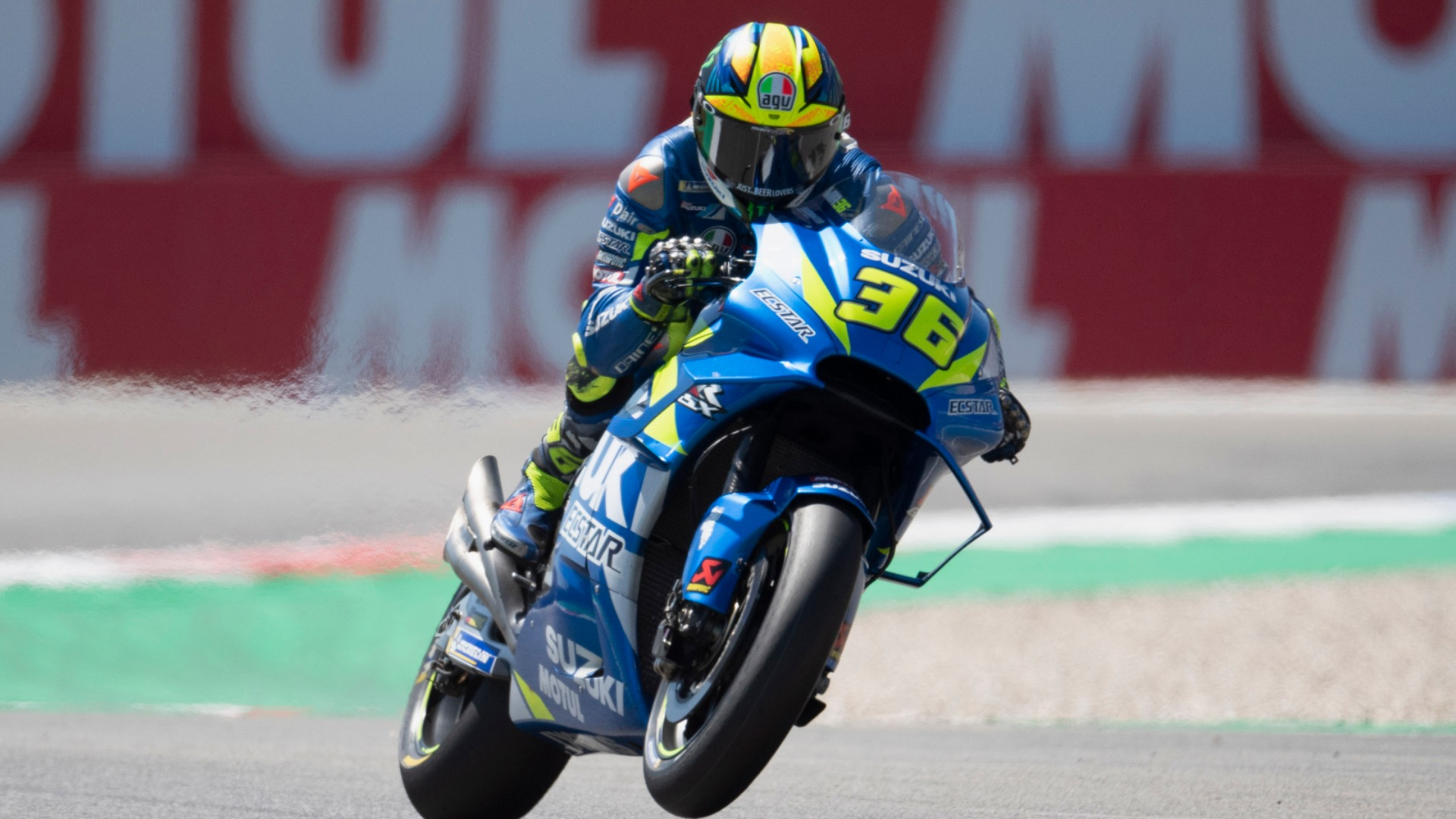 Team Suzuki Ecstar will again be without Joan Mir at the British Grand Prix, as the Spaniard has not yet made a full recovery.