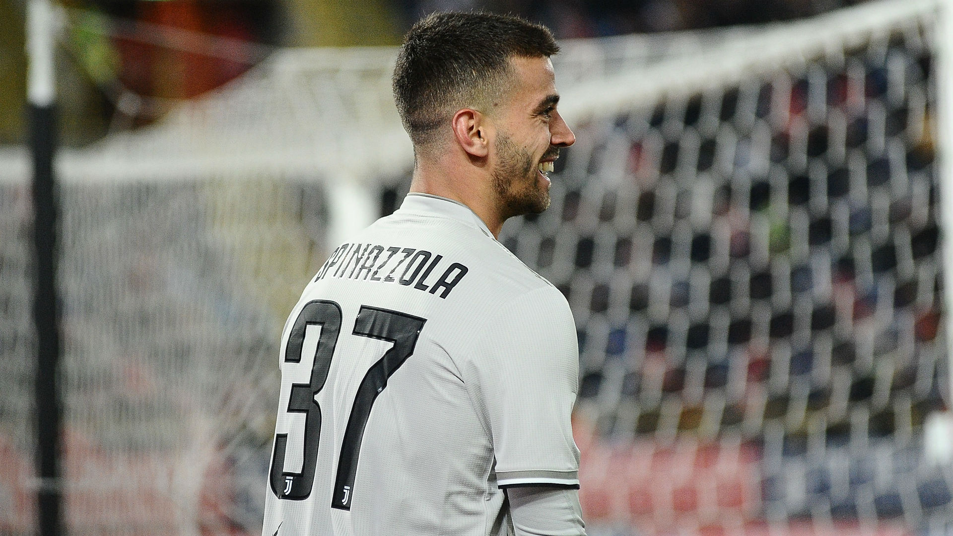 Leonardo Spinazzola made his Juventus debut in Saturday's defeat of Bologna, and Massimiliano Allegri was impressed.