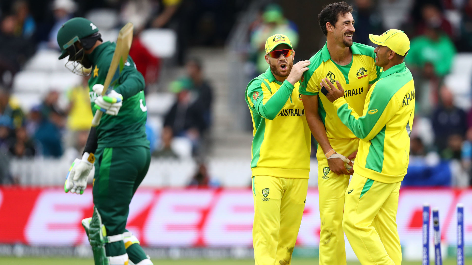 Pakistan failed to capitalise on their opportunities against Australia at Taunton and now face a fight to qualify for the semi-finals.
