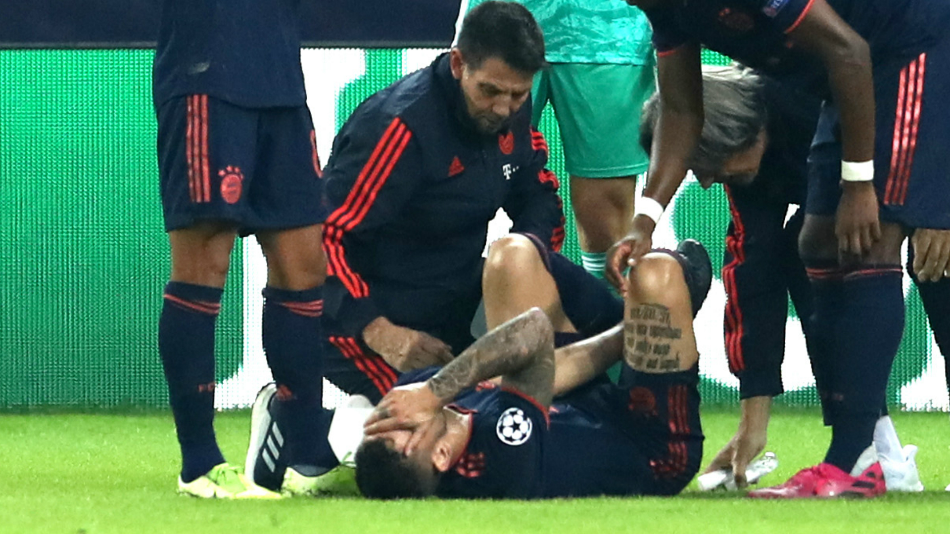Hasan Salihamidzic and Niko Kovac addressed Lucas Hernandez's injury sustained in a 3-2 win at Olympiacos.