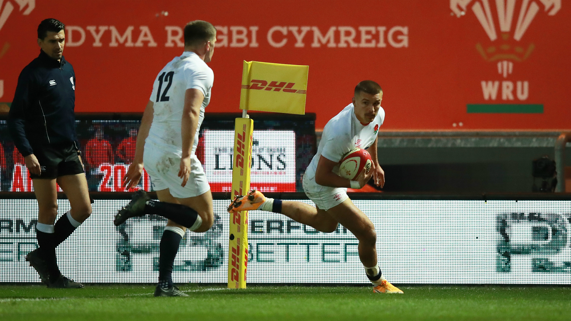 Owen Farrell booted 14 points and could afford to miss a couple of kicks as Eddie Jones' England won comfortably enough in Wales.