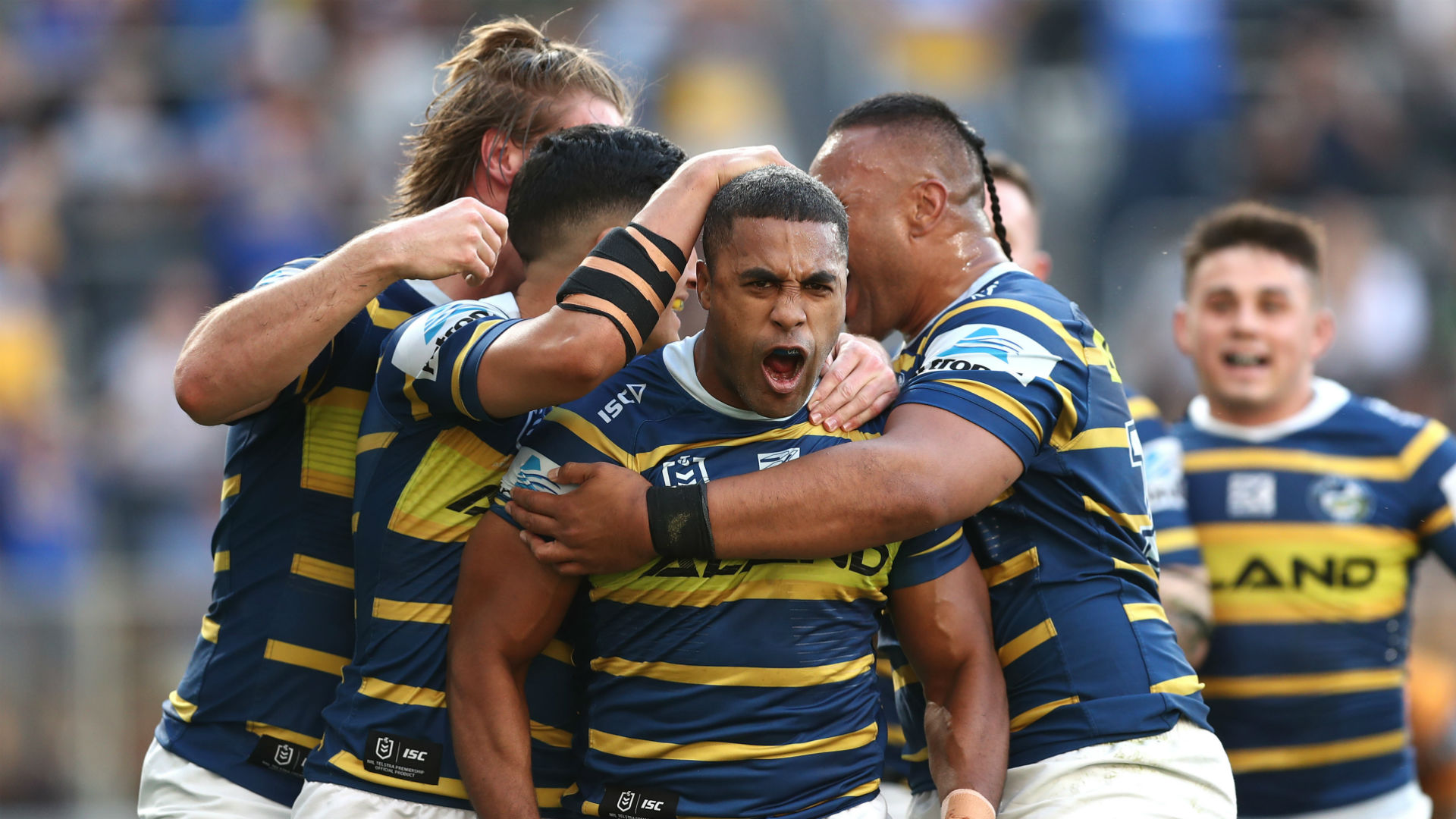 Brisbane Broncos' season ended with a whimper at Bankwest Stadium, where Parramatta Eels ran in an astonishing 11 tries to stay alive.