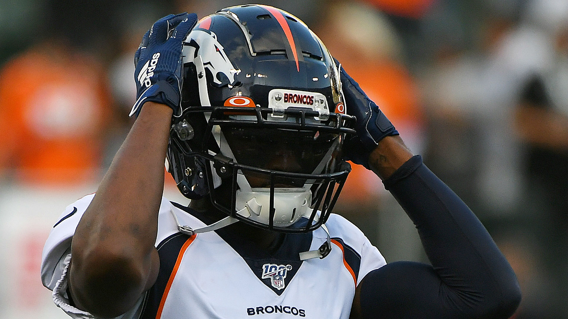 Emmanuel Sanders and Mohamed Sanu were traded, while Adrian Pederson declared himself fit to play.