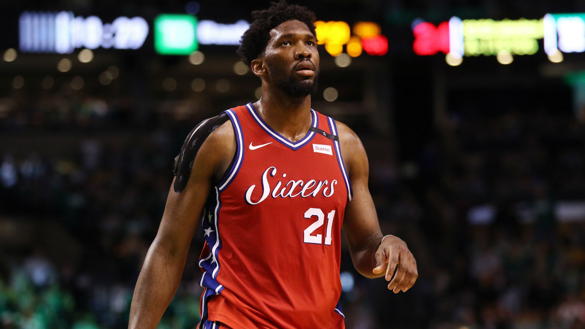 Sixers star Embiid fined $25k