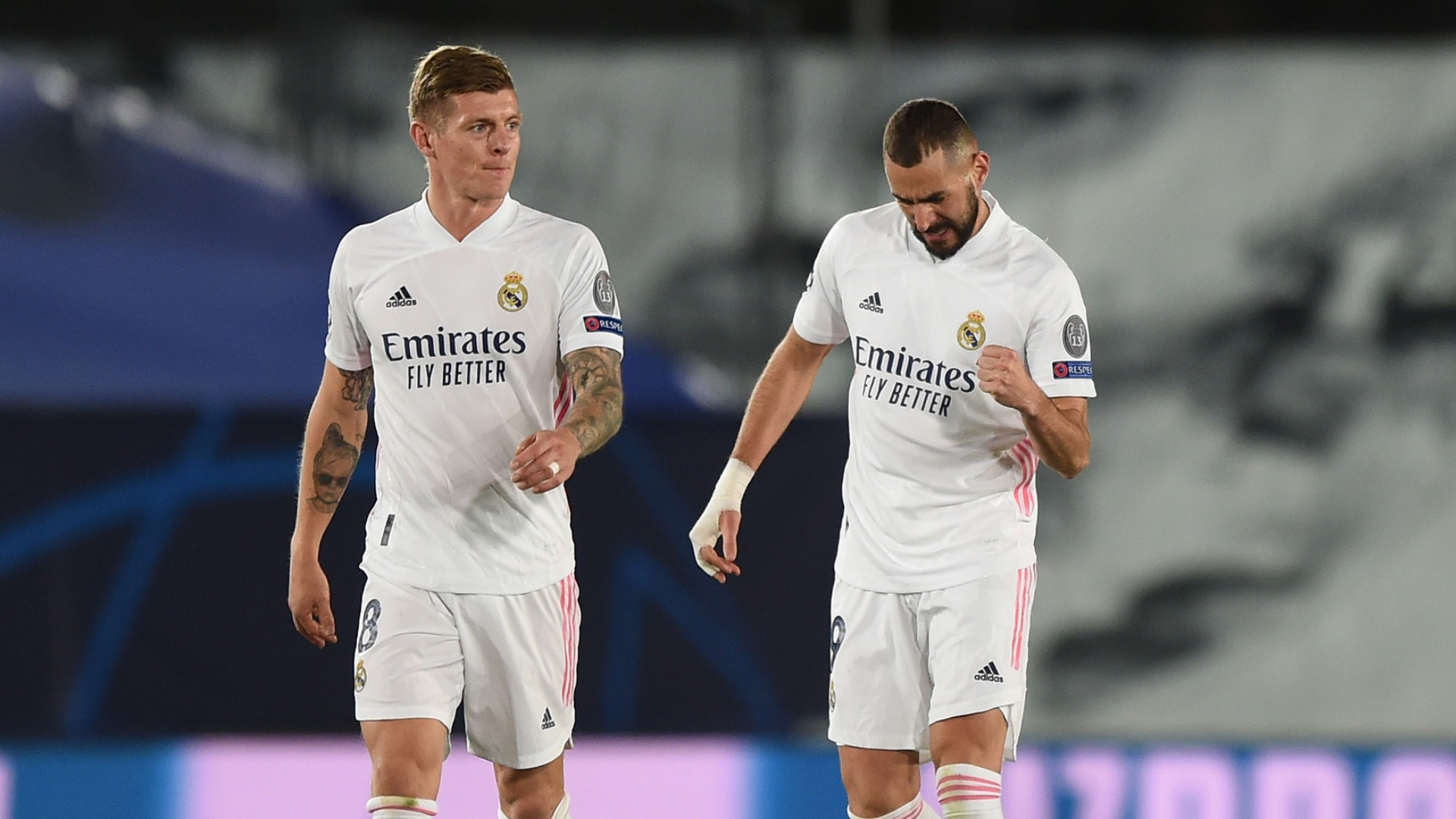 Injury-hit Real Madrid have been linked with both Kylian Mbappe and Erling Haaland but will have neither against Atalanta.
