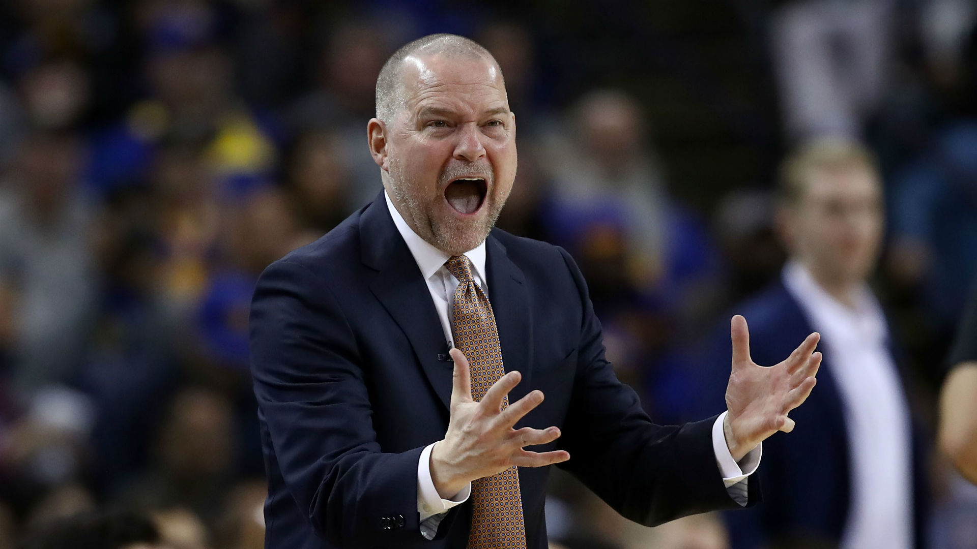 Malone frustrated by Nuggets