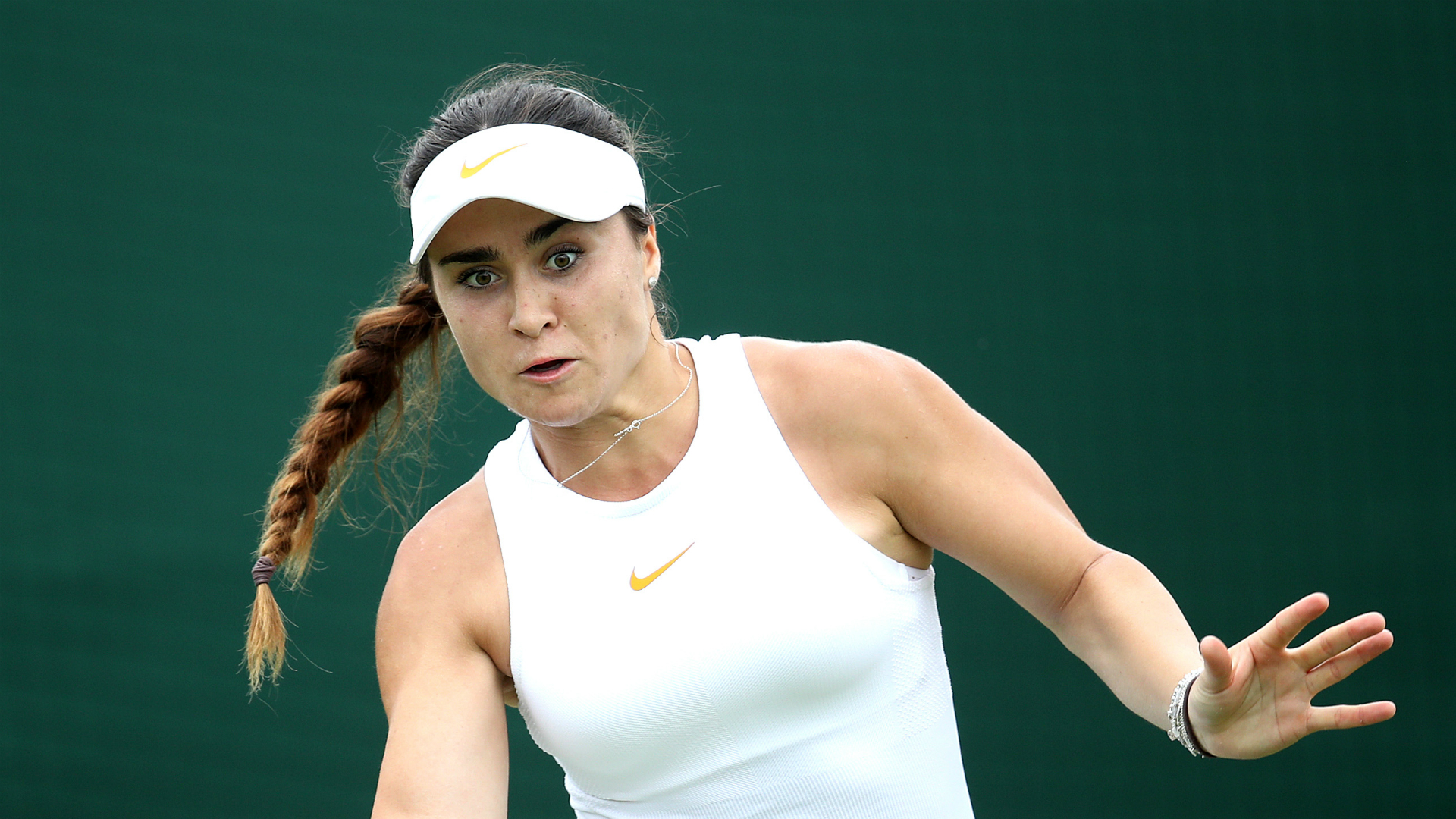 Chloe Paquet turned the tables on fellow French player Carolina Garcia with a shock win in Latvia on Wednesday at the Baltic Open.