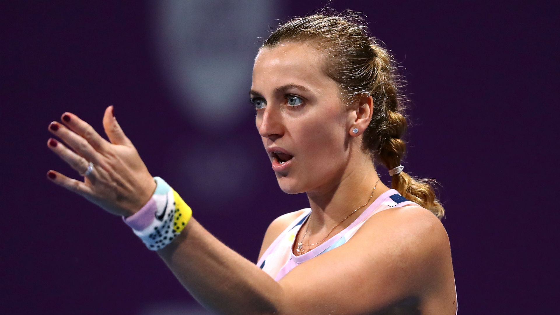 World number 12 Petra Kvitova would rather see grand slams cancelled than be played behind closed doors.