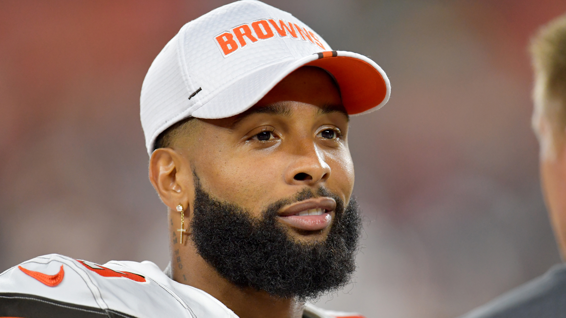 Odell Beckham Jr. is not 100 per cent, according to Cleveland Browns head coach Freddie Kitchens.