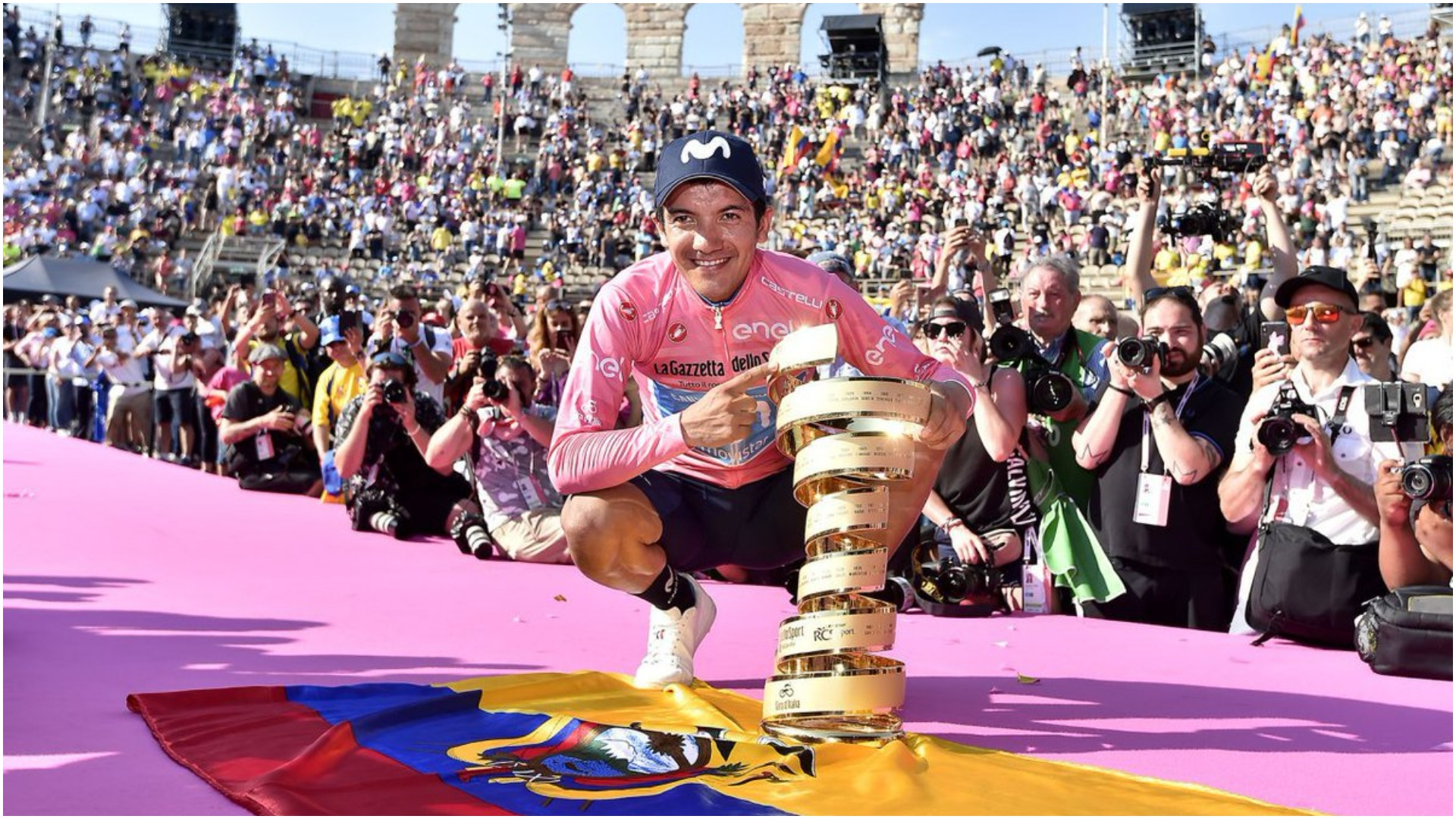 An unexpected victory at the Giro d'Italia saw Richard Carapaz become the first Ecuadorian to win a Grand Tour.