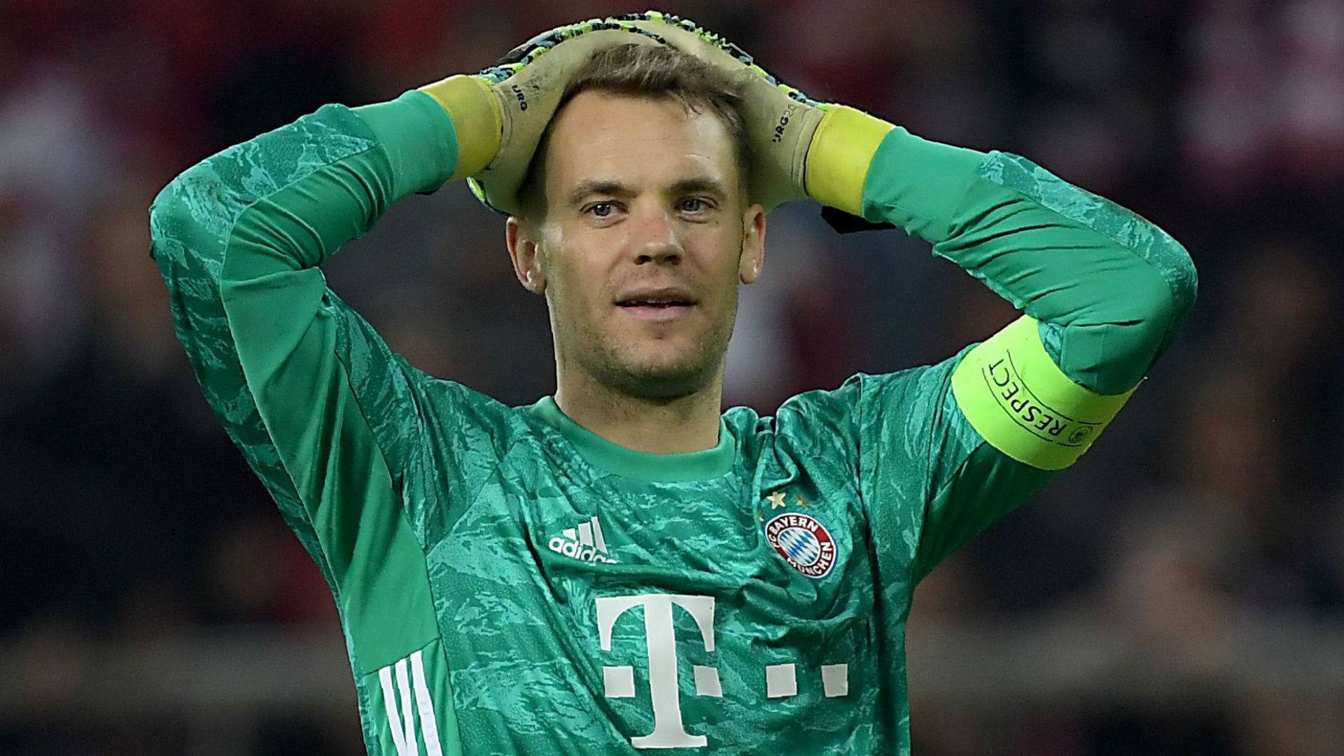 Bayern Munich beat Olympiacos in the Champions League but they must tighten up defensively, according to goalkeeper Manuel Neuer.