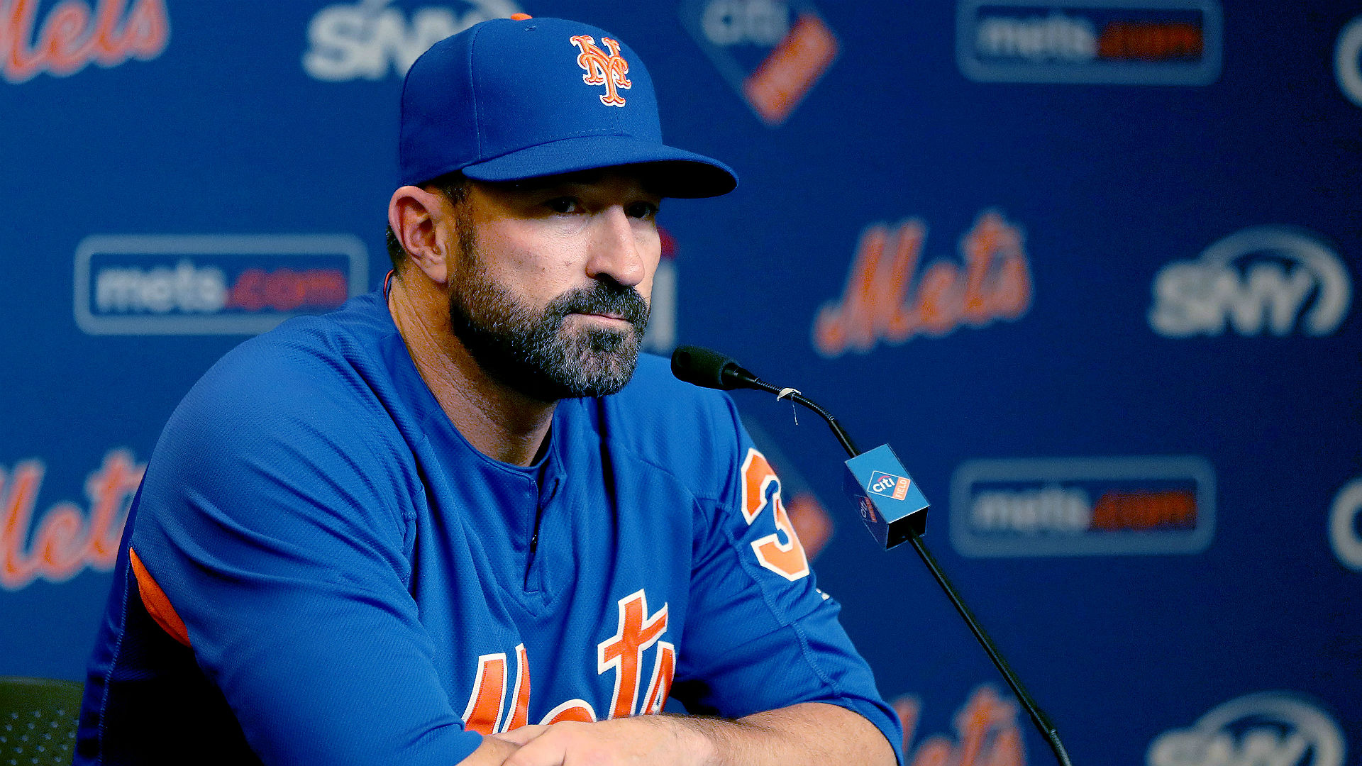 """The Mets organization does not condone the behavior that took place yesterday,"" Mets general manager Brodie Van Wagenen told reporters."