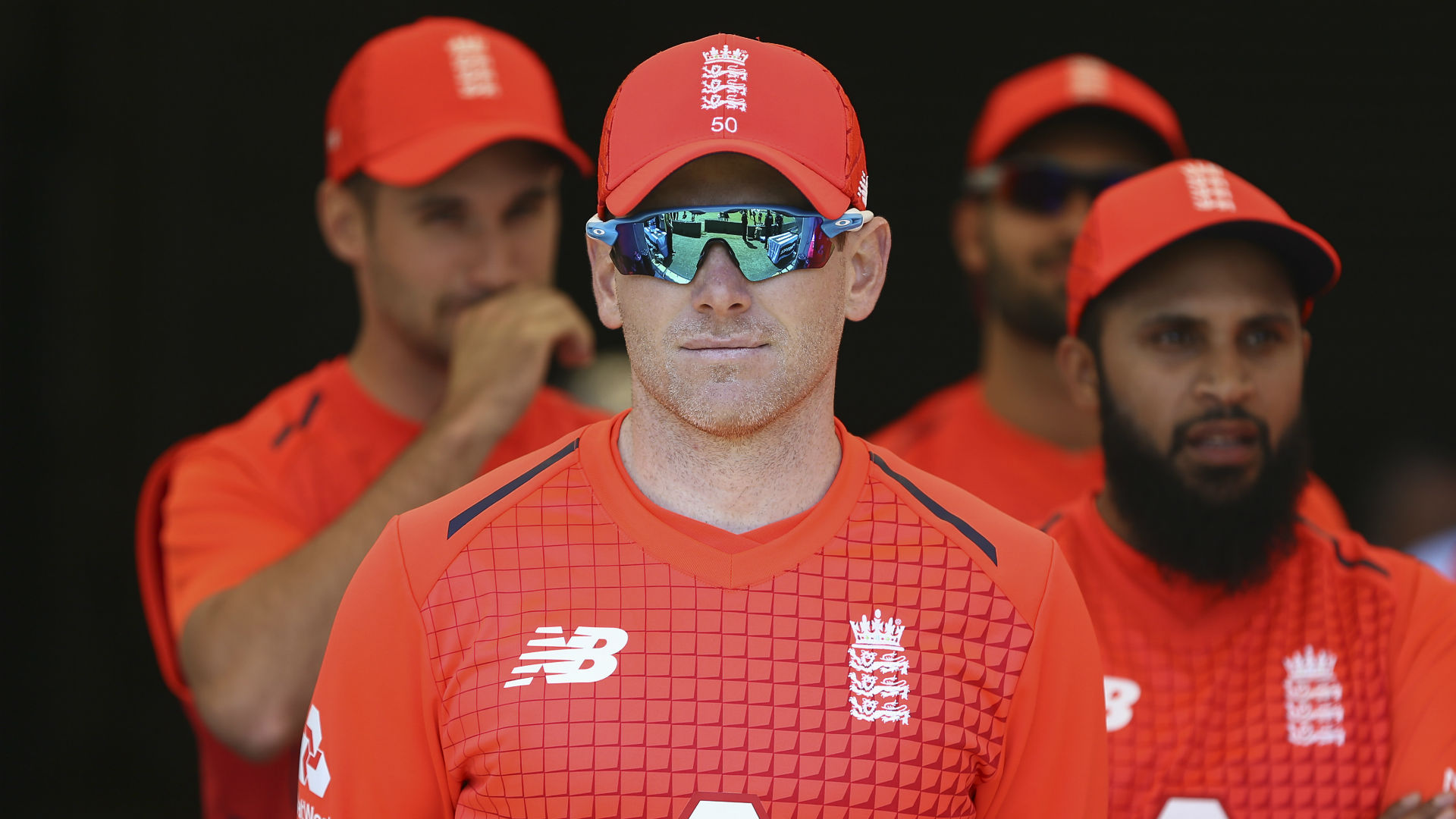 Captain Eoin Morgan says England's performance in the field in Wellington was unacceptable.