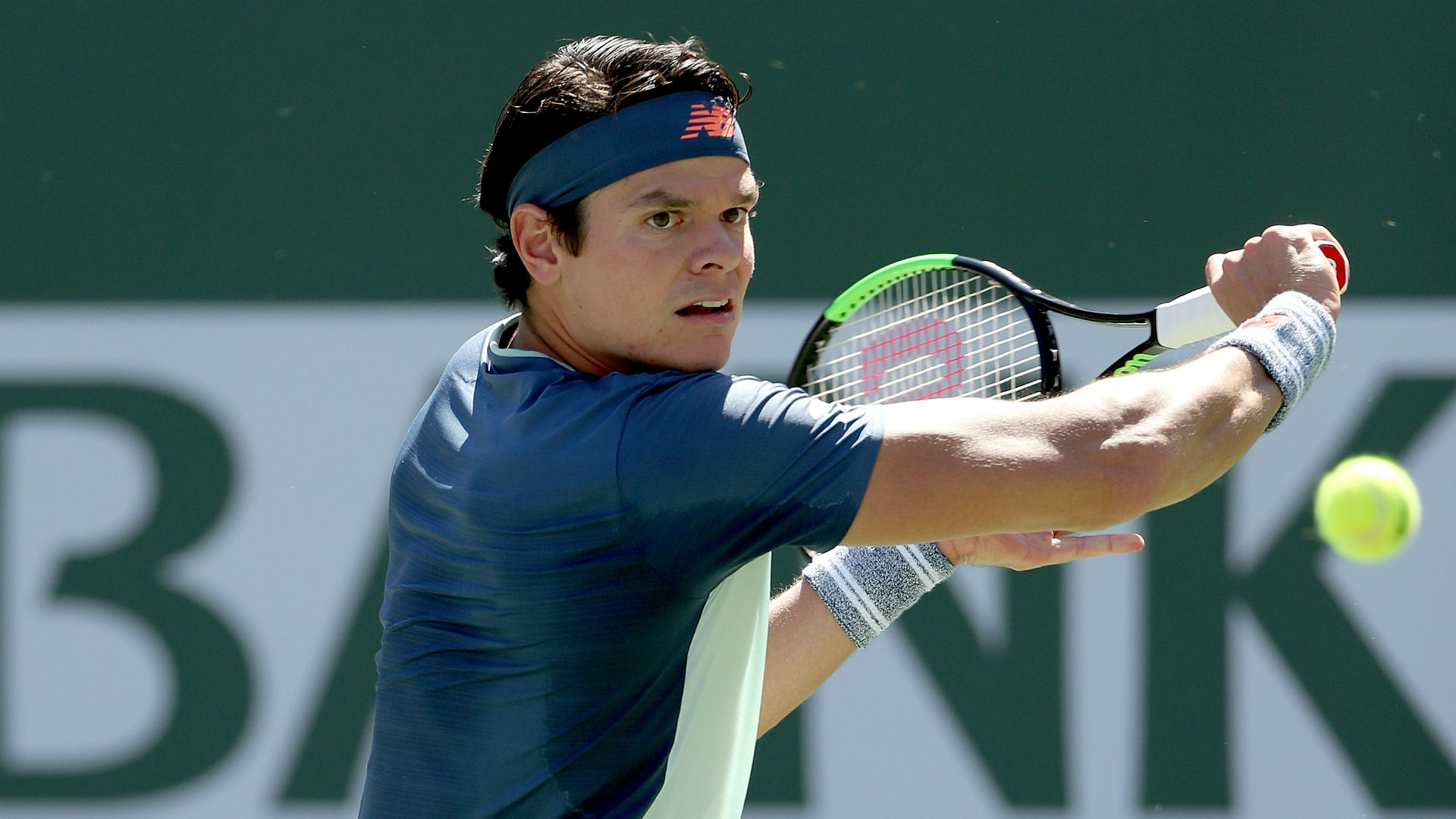 Runner-up at the 2018 Stuttgart Open, Milos Raonic continued his comeback from injury by beating Jo-Wilfried Tsonga in Germany on Wednesday.
