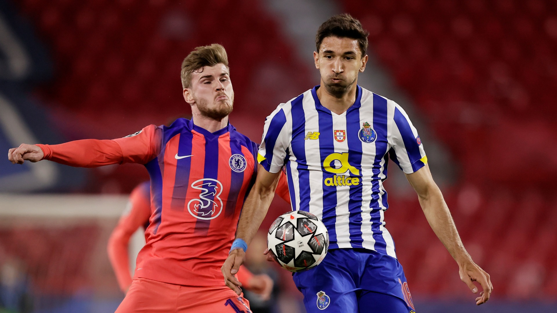 Marko Grujic and Sergio Conceicao both felt Porto deserved more from their first leg against Chelsea, but they are not giving up hope.