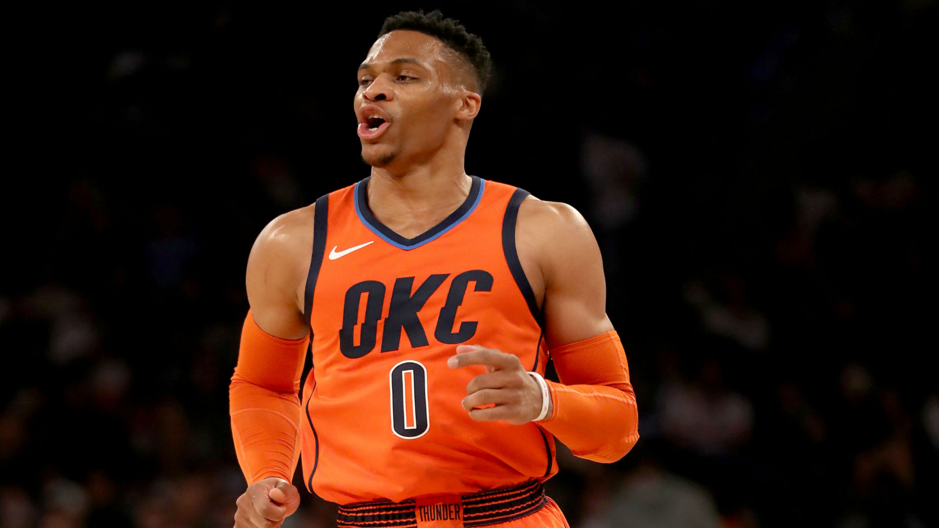 Russell Westbrook said he never dreamed of playing in the NBA, let alone making history.