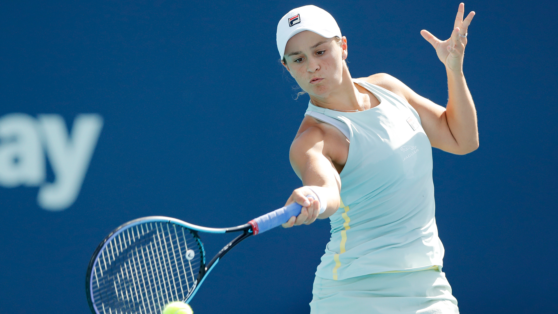 Sofia Kenin, Belinda Bencic and Elise Mertens were all beaten at the Volvo Car Open, where Ash Barty moved through.