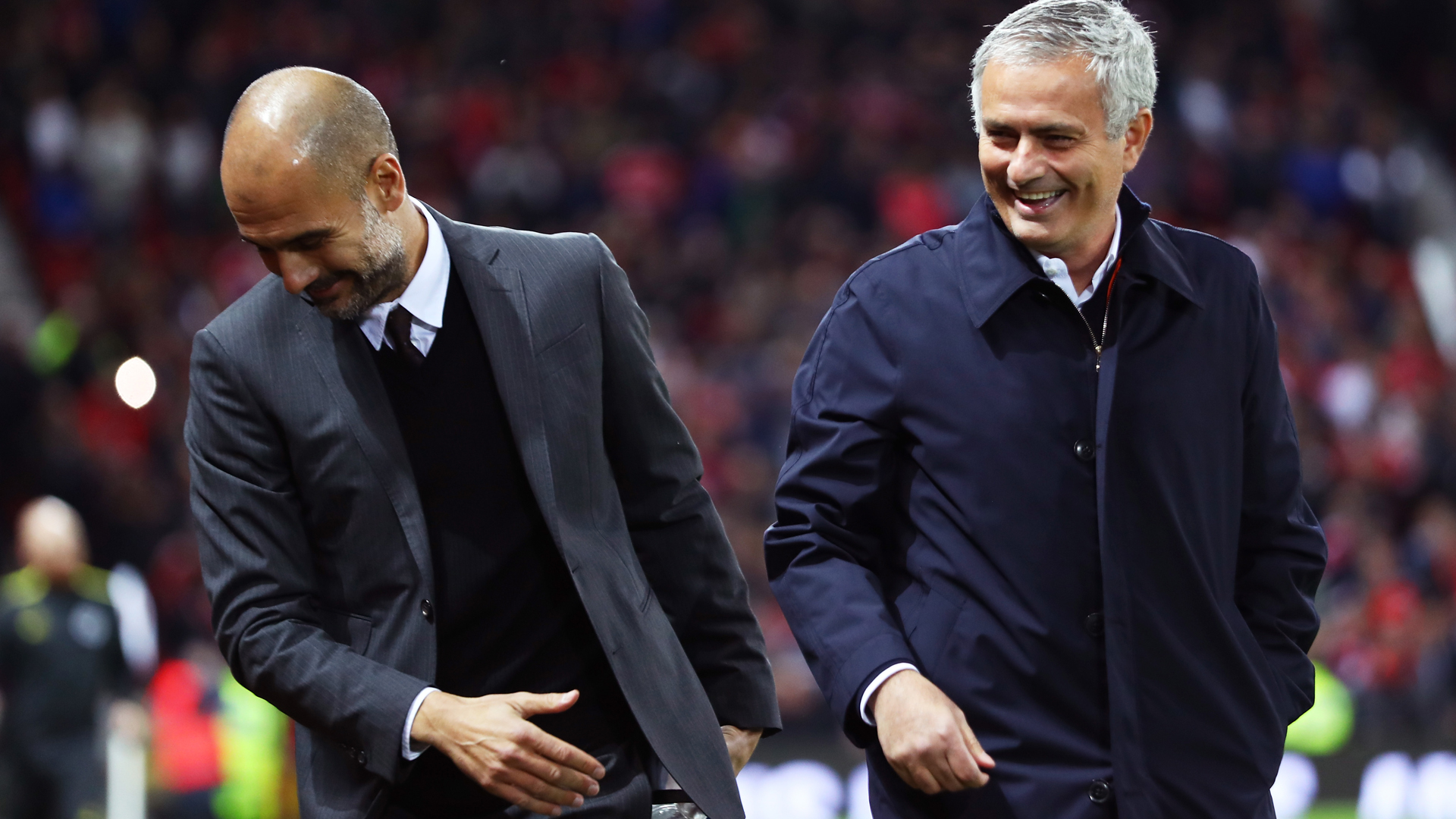 Manchester City's victory over Everton saw manager Pep Guardiola bring up a milestone triumph, but Jose Mourinho did it quicker.