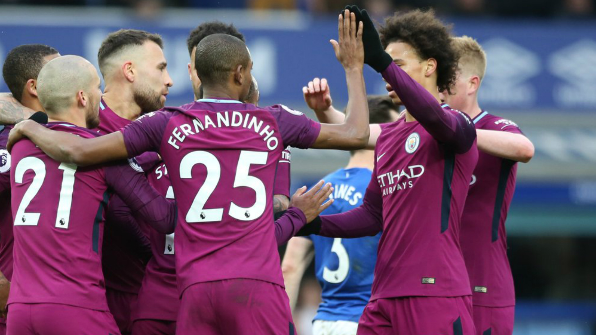 A first-half blitz laid the foundations for Manchester City's latest win as Everton were brushed aside on Saturday.