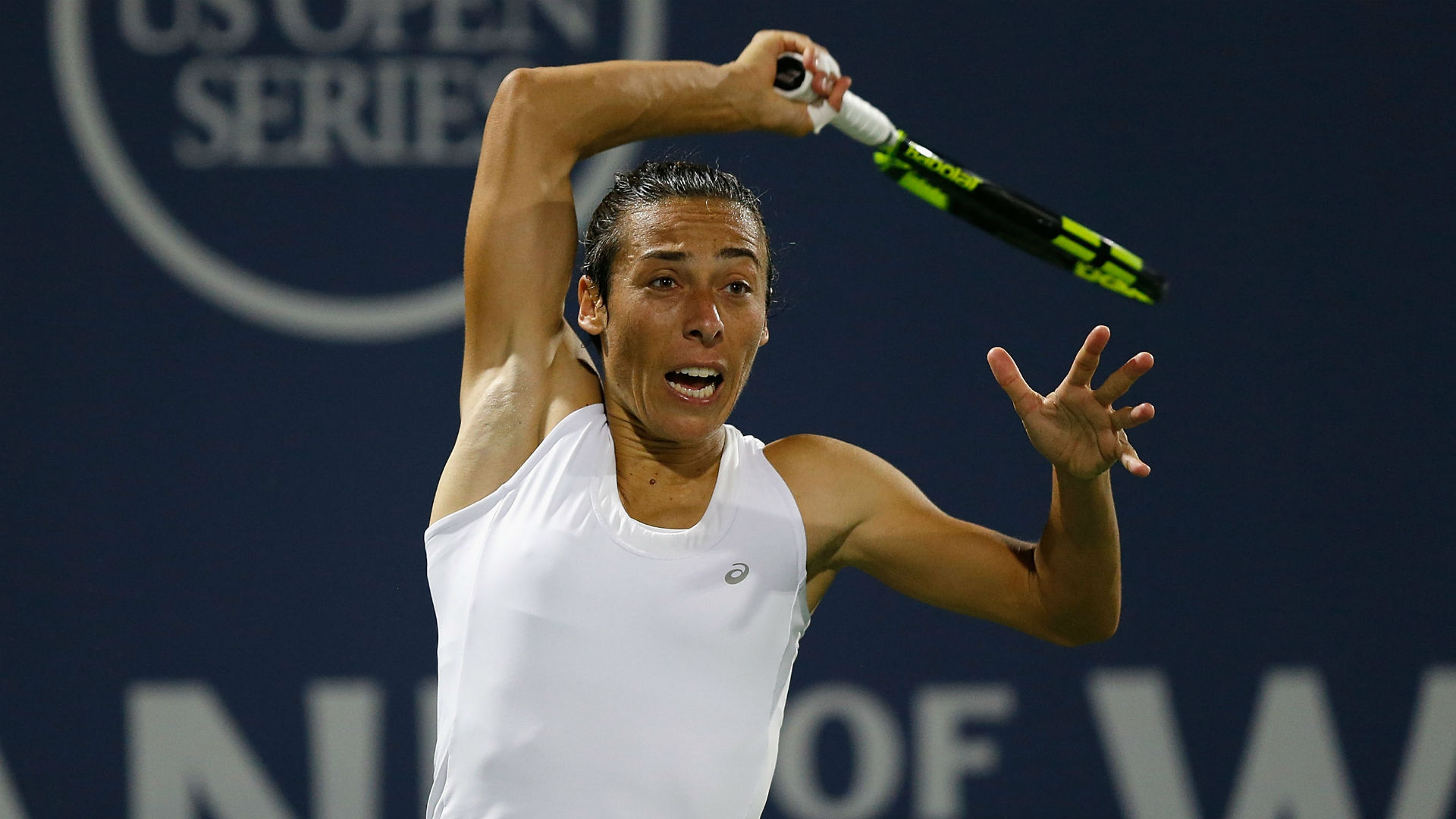 "Francesca Schiavone kept her cancer diagnosis quiet but has now been able to declare she is ""back in action""."