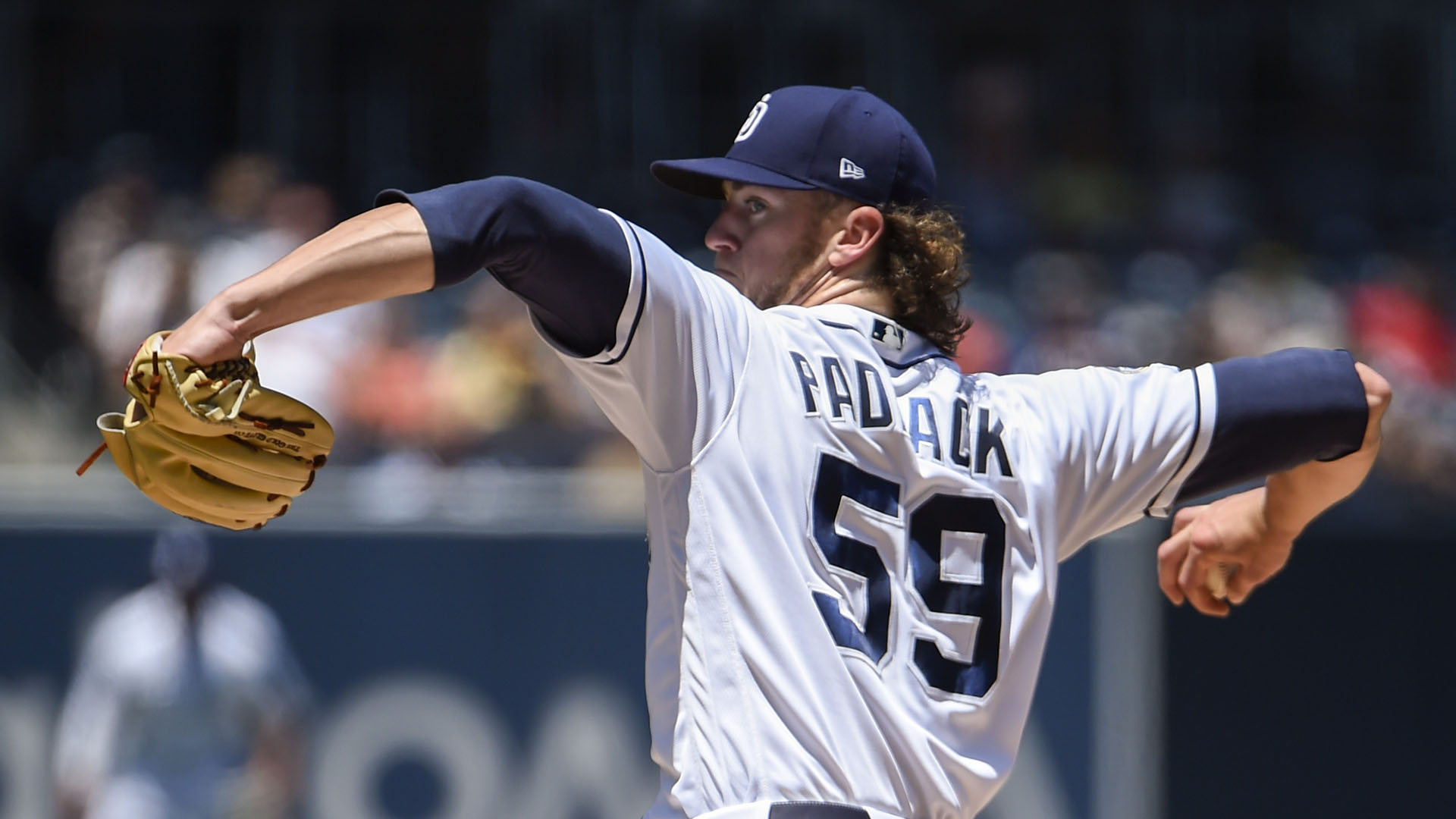 Chris Paddack has been the Padres' best pitcher this season.