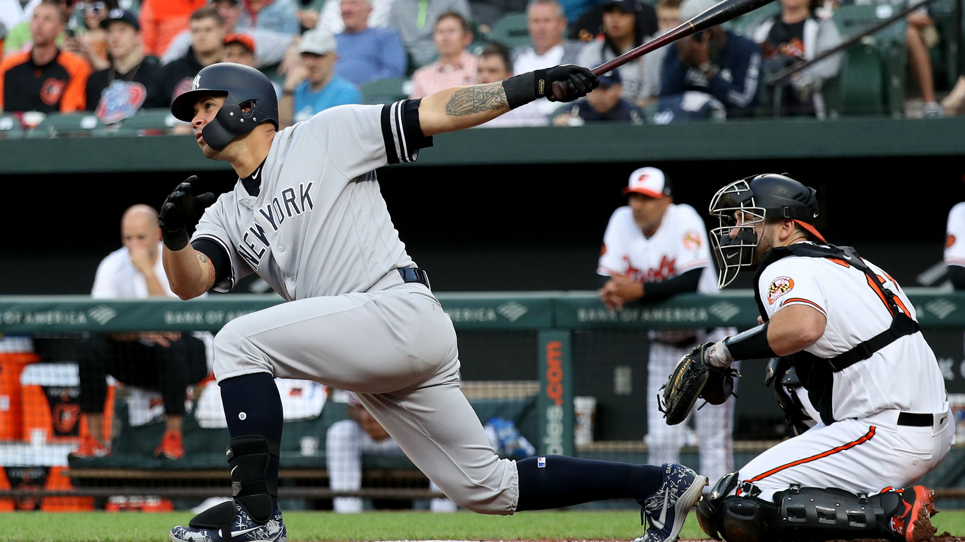 New York scored six runs in the first three innings and cruised to an easy 11-4 victory over the Orioles.