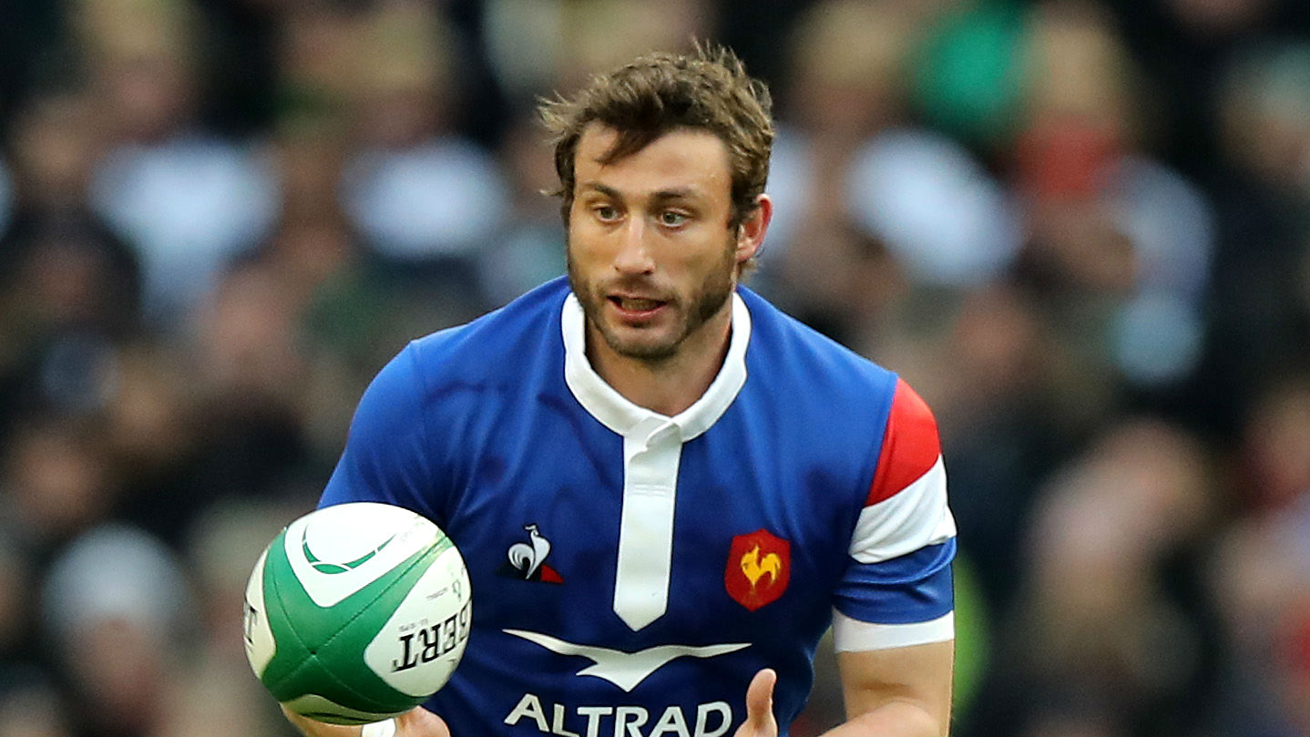 Maxime Medard claimed a brace of tries as France ran riot against Scotland in Nice as part of their Rugby World Cup preparations.