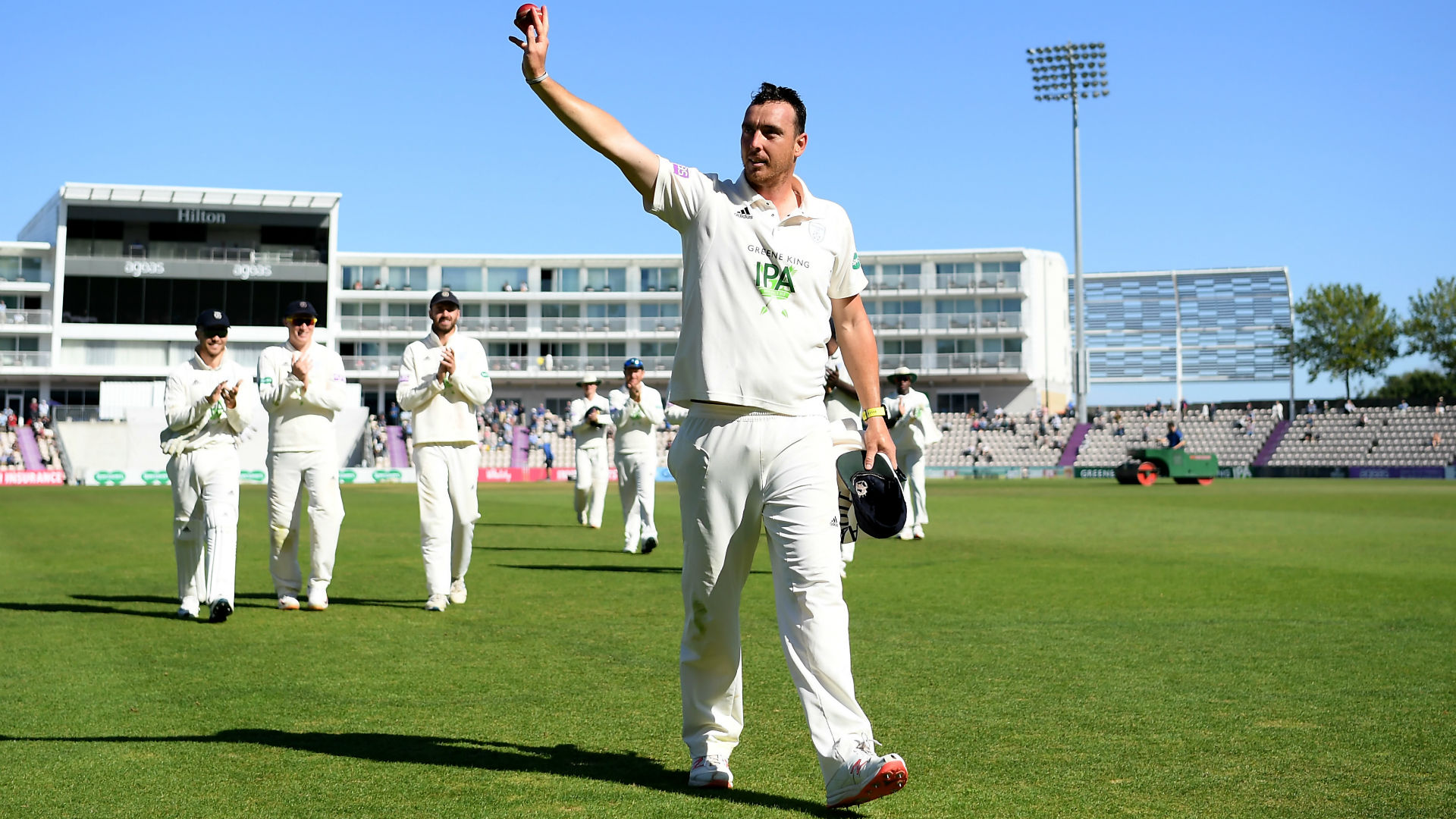 Kyle Abbott takes 17 wickets