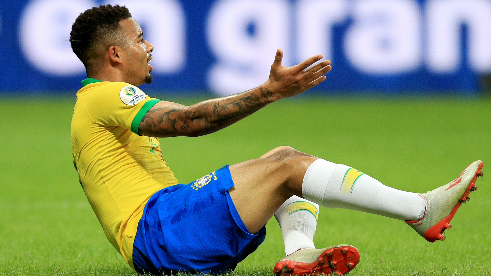 Gabriel Jesus and Philippe Coutinho had goals ruled out by the VAR on a frustrating evening for Brazil in Salvador, Bahia.