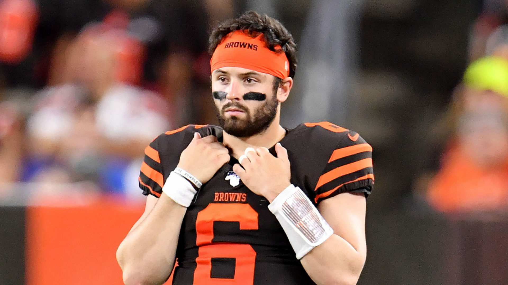 Looking ahead to his third NFL season, Cleveland Browns QB Baker Mayfield will not add any more pressure on himself.