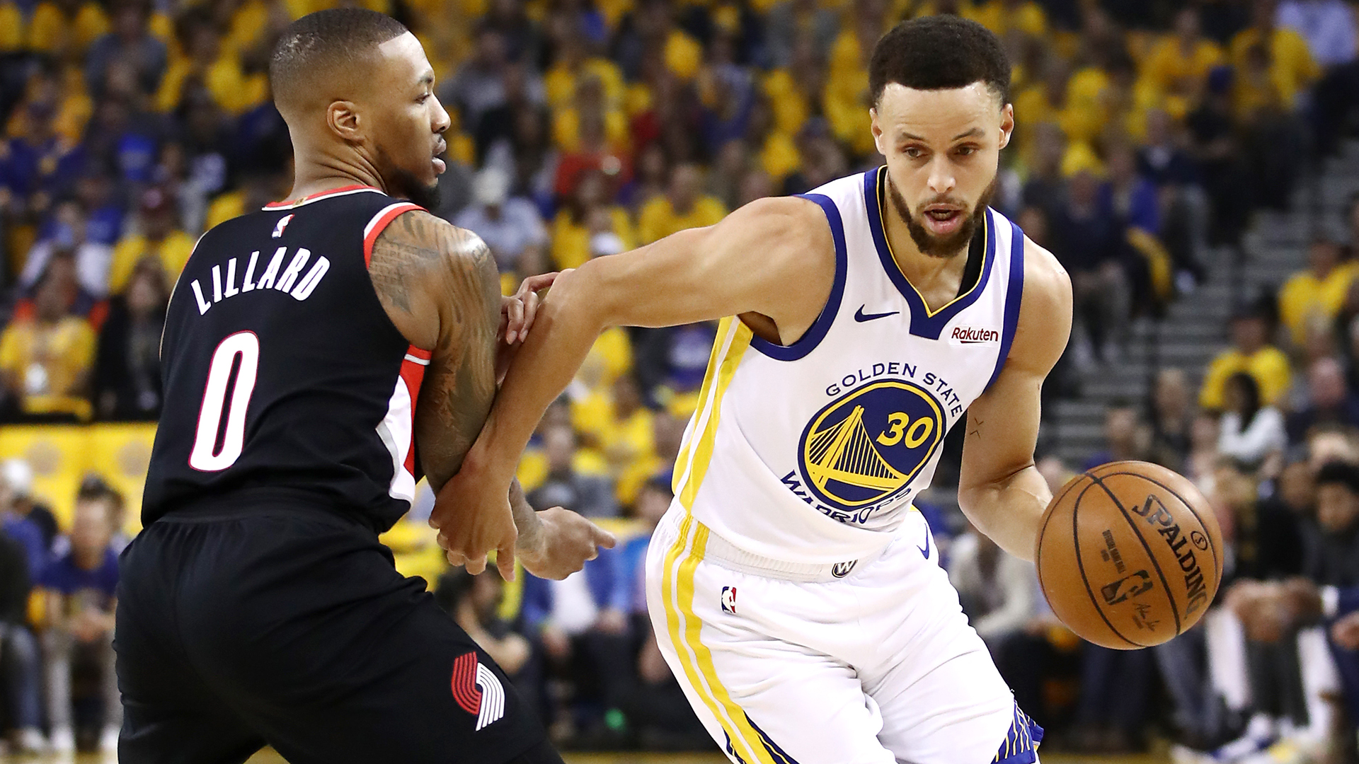 The Portland Trail Blazers must improve defensively against Stephen Curry, according to Damian Lillard.