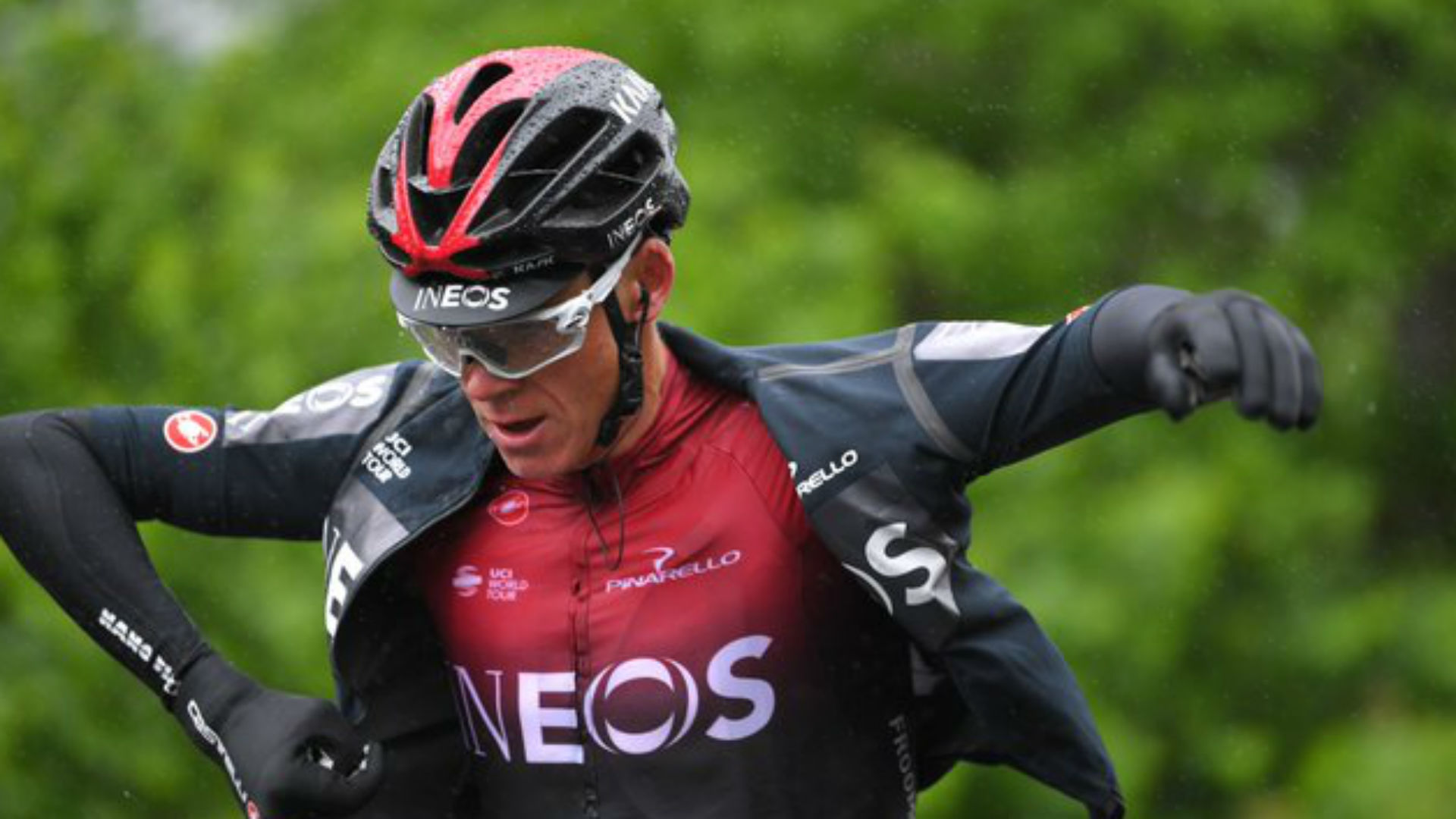 There was concern over Chris Froome after he was taken to hospital following a crash in a recon ride at the Criterium du Dauphine.