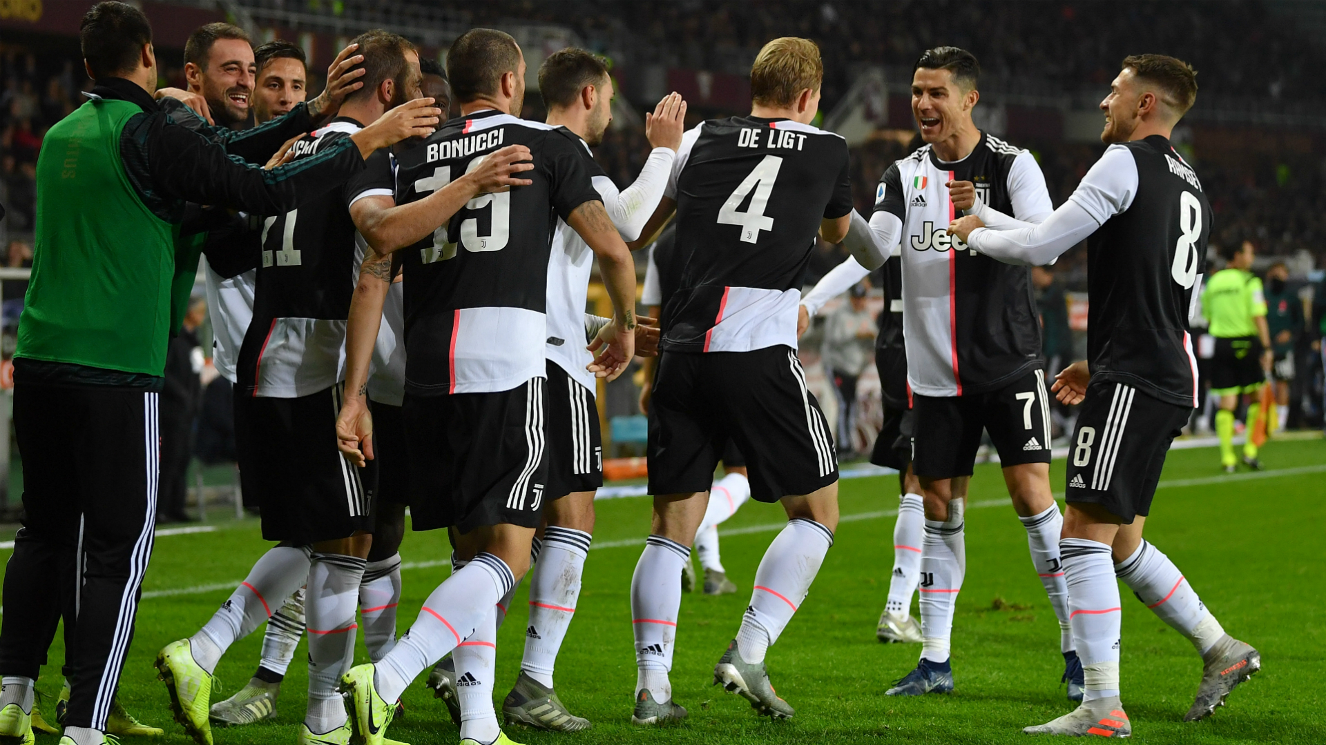 A first goal for Juventus left centre-back Matthijs de Ligt thrilled as he sealed a Derby della Mole win against Torino.