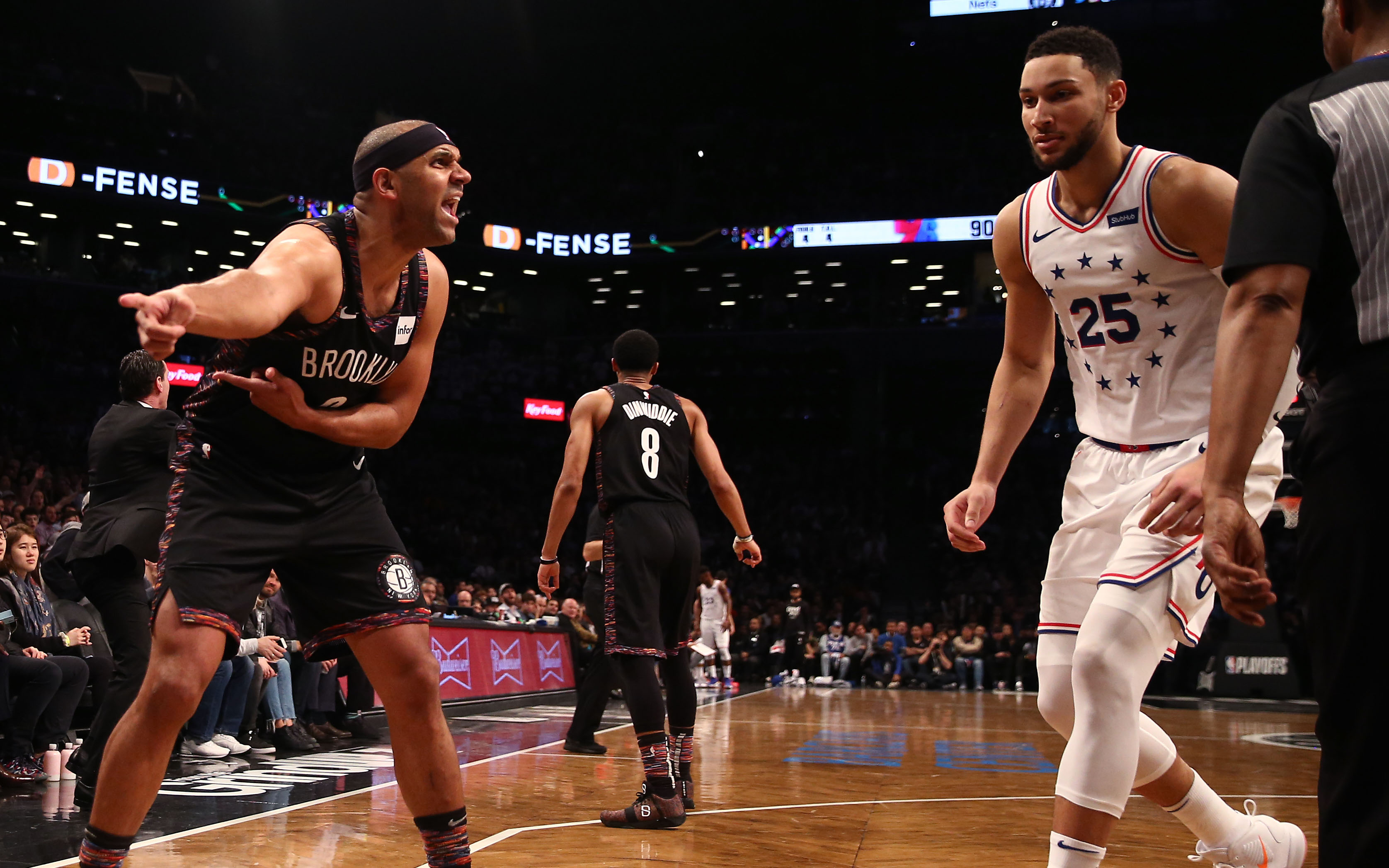 Embiid: Dudley's a nobody
