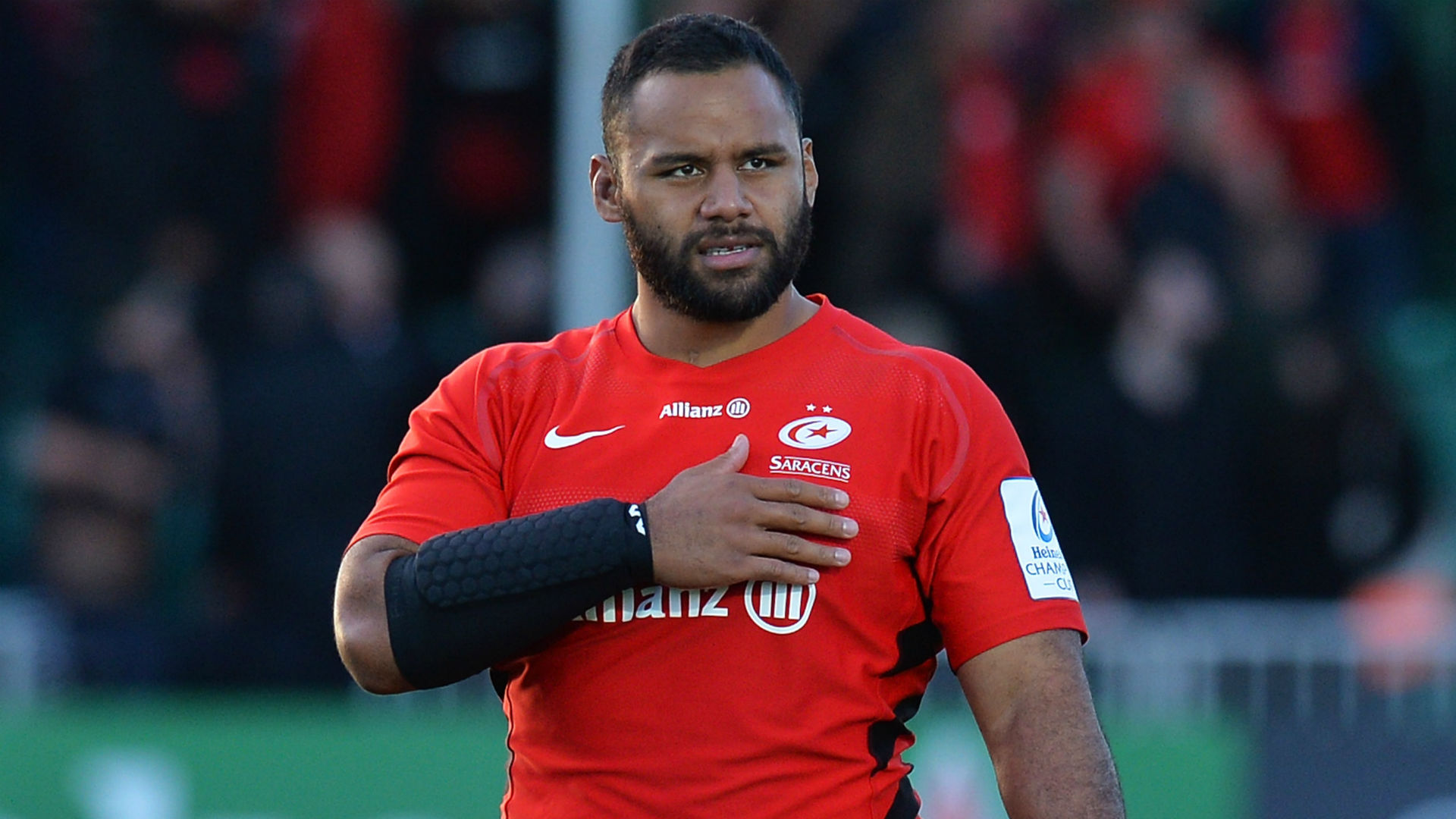 Returning to action after a broken arm proved an anxious experience for Saracens' Billy Vunipola, who is steadily regaining his poise.