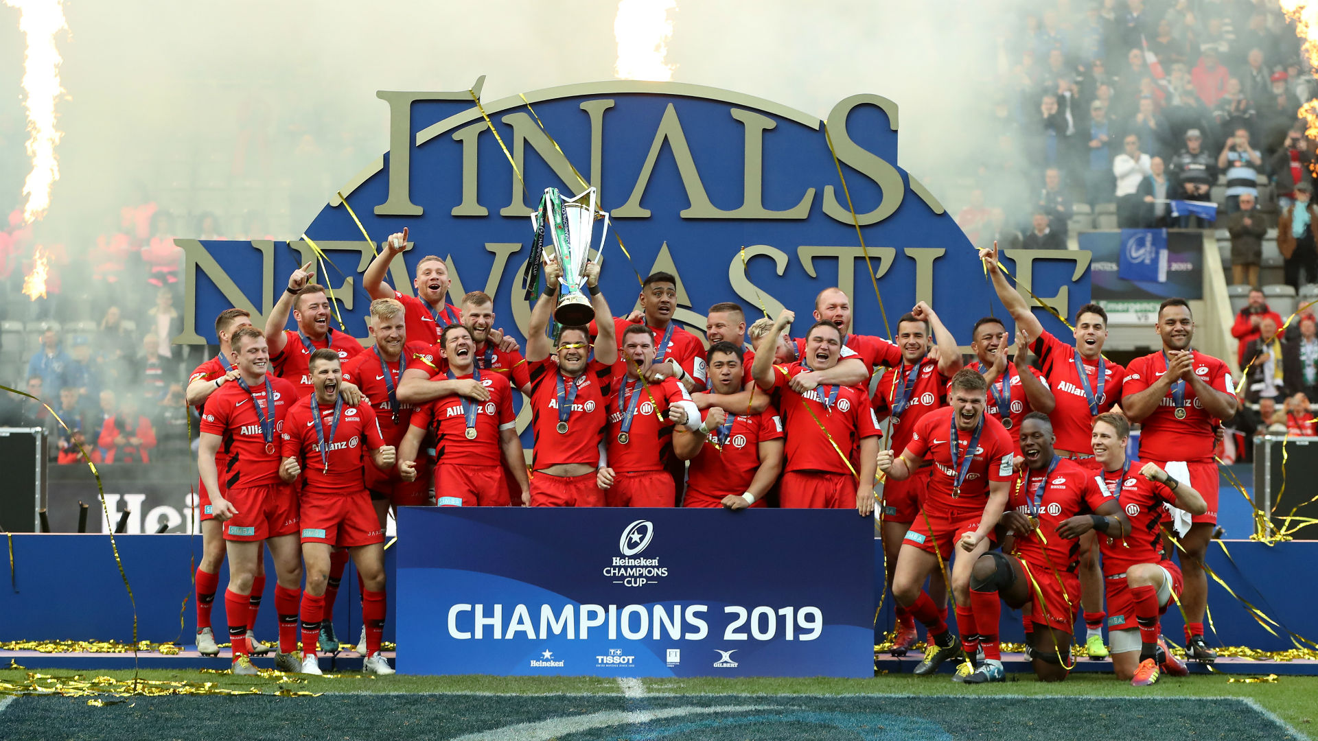 The fixtures for the 2019-20 Champions Cup and Challenge Cup have been revealed, with Saracens starting their title defence at Racing 92.
