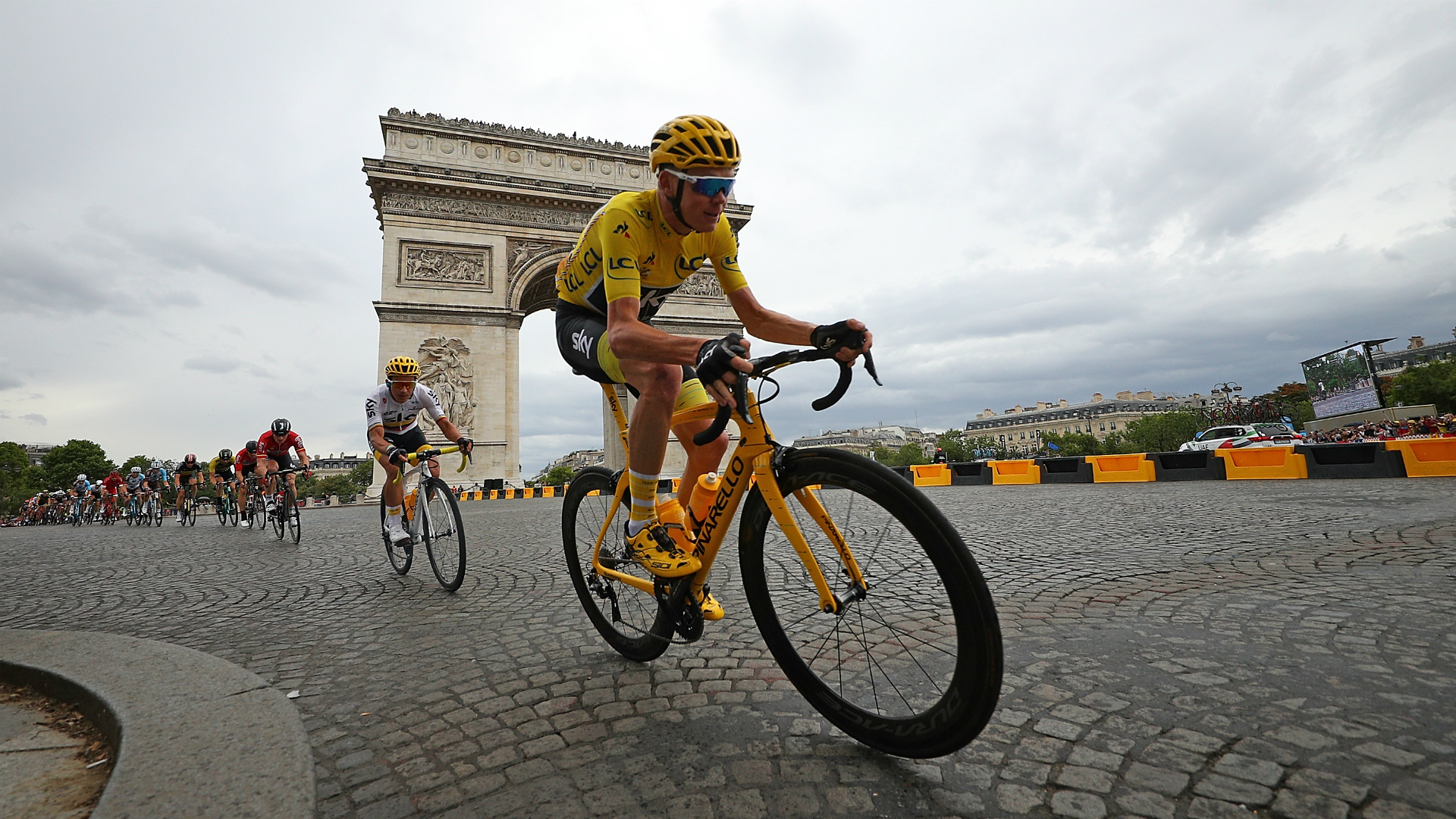 Team INEOS' star rider Chris Froome was in intensive care after breaking several bones in a crash that ruled him out of the Tour de France.