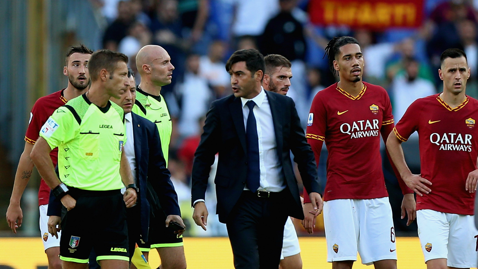 Paulo Fonseca, who had been banned from the touchline for two matches, has seen his suspension reduced to a single game.