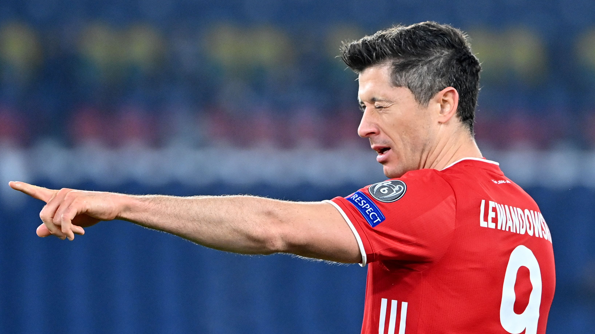 Bayern Munich striker Robert Lewandowski is behind only Lionel Messi and Cristiano Ronaldo after scoring his 72nd Champions League goal.
