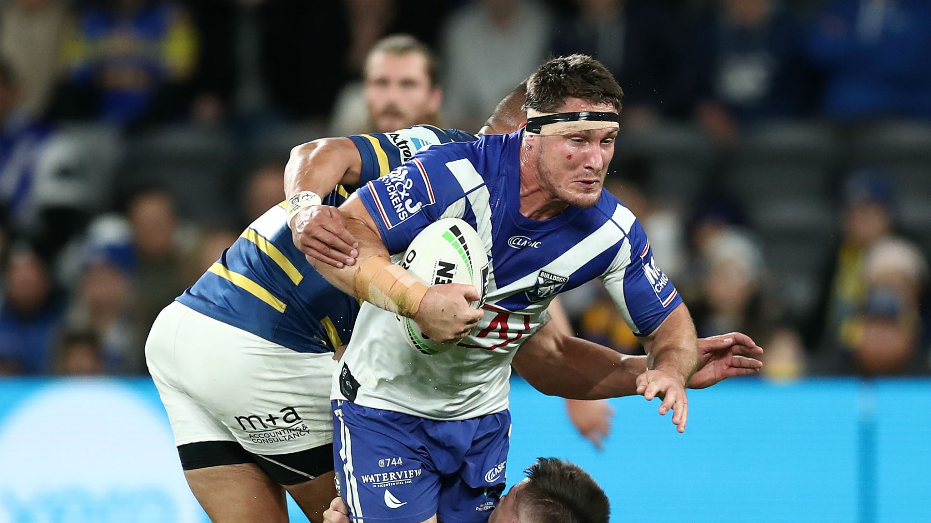 Canterbury Bulldogs stopped Parramatta Eels moving into the top four and booking their place in the NRL finals on Thursday.