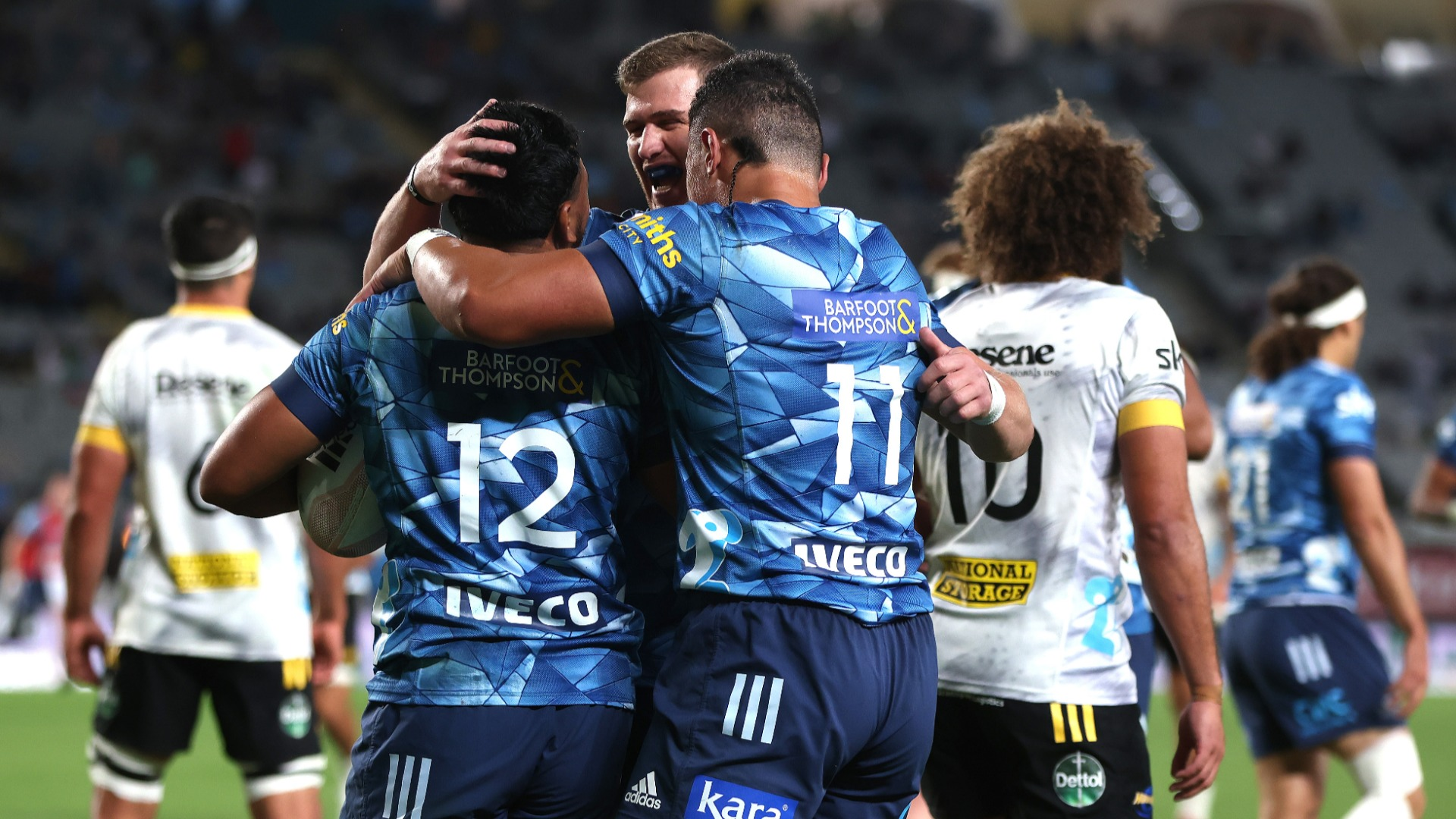 After suffering back-to-back defeats, the Blues responded with a much-needed win over the Hurricanes in Auckland.