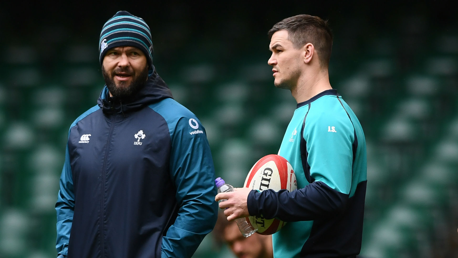 Andy Farrell has called up five uncapped players into his first Ireland squad, with Johnny Sexton confirmed as the team's captain.
