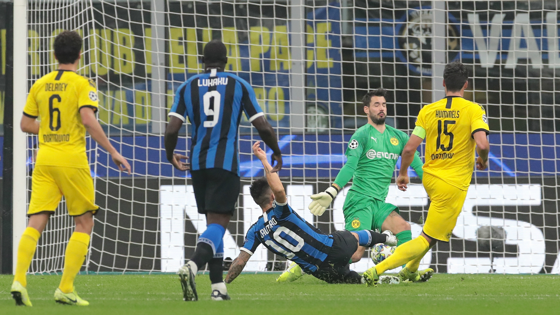 Report: Inter 2-0 Dortmund