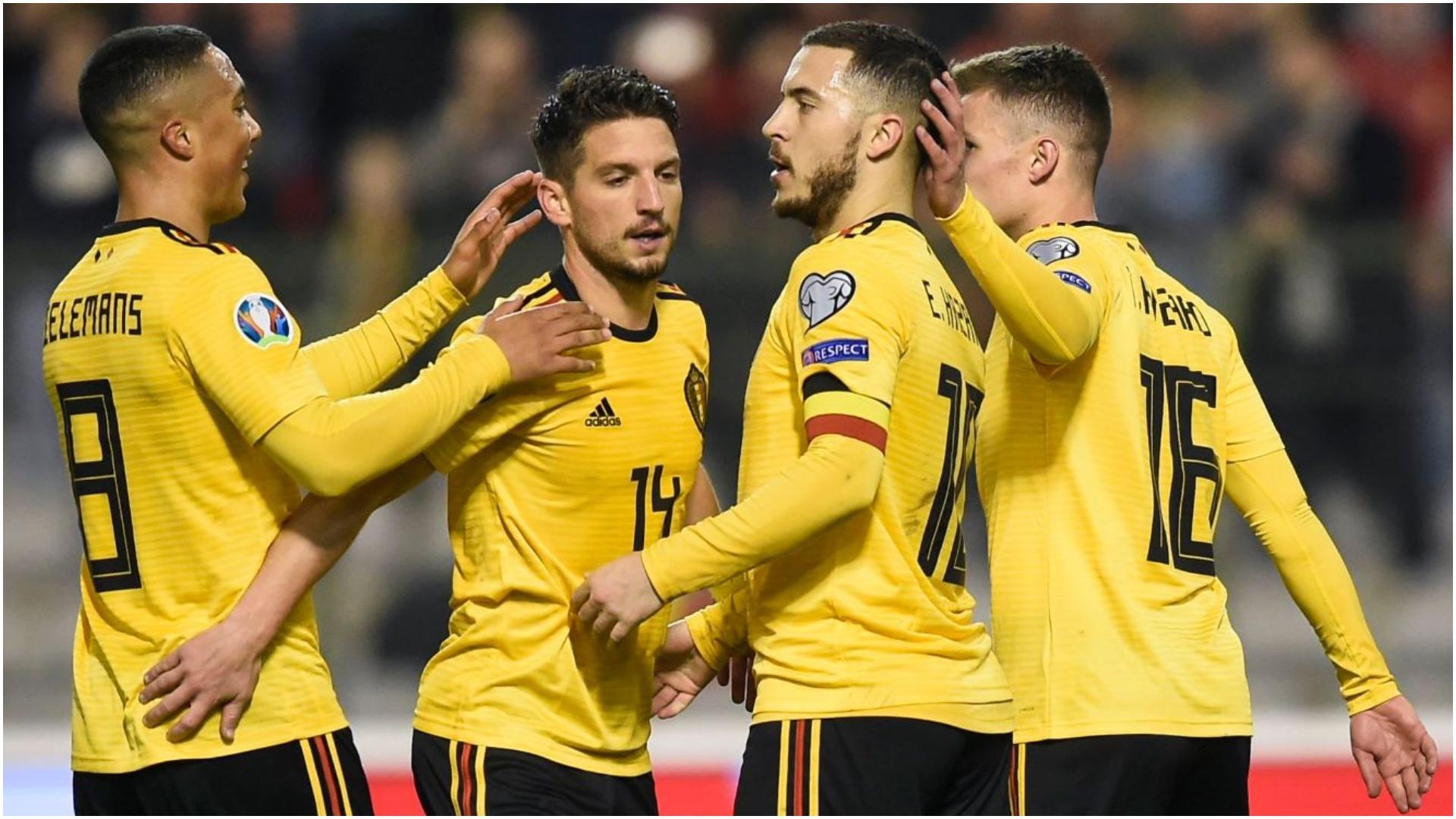 Report: Belgium 3 Russia 1