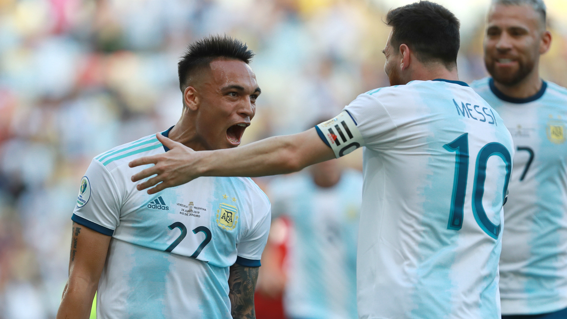 Lautaro Martinez's agent says that if Lionel Messi wants to play with the Inter striker, he should sign for the Nerazzurri.