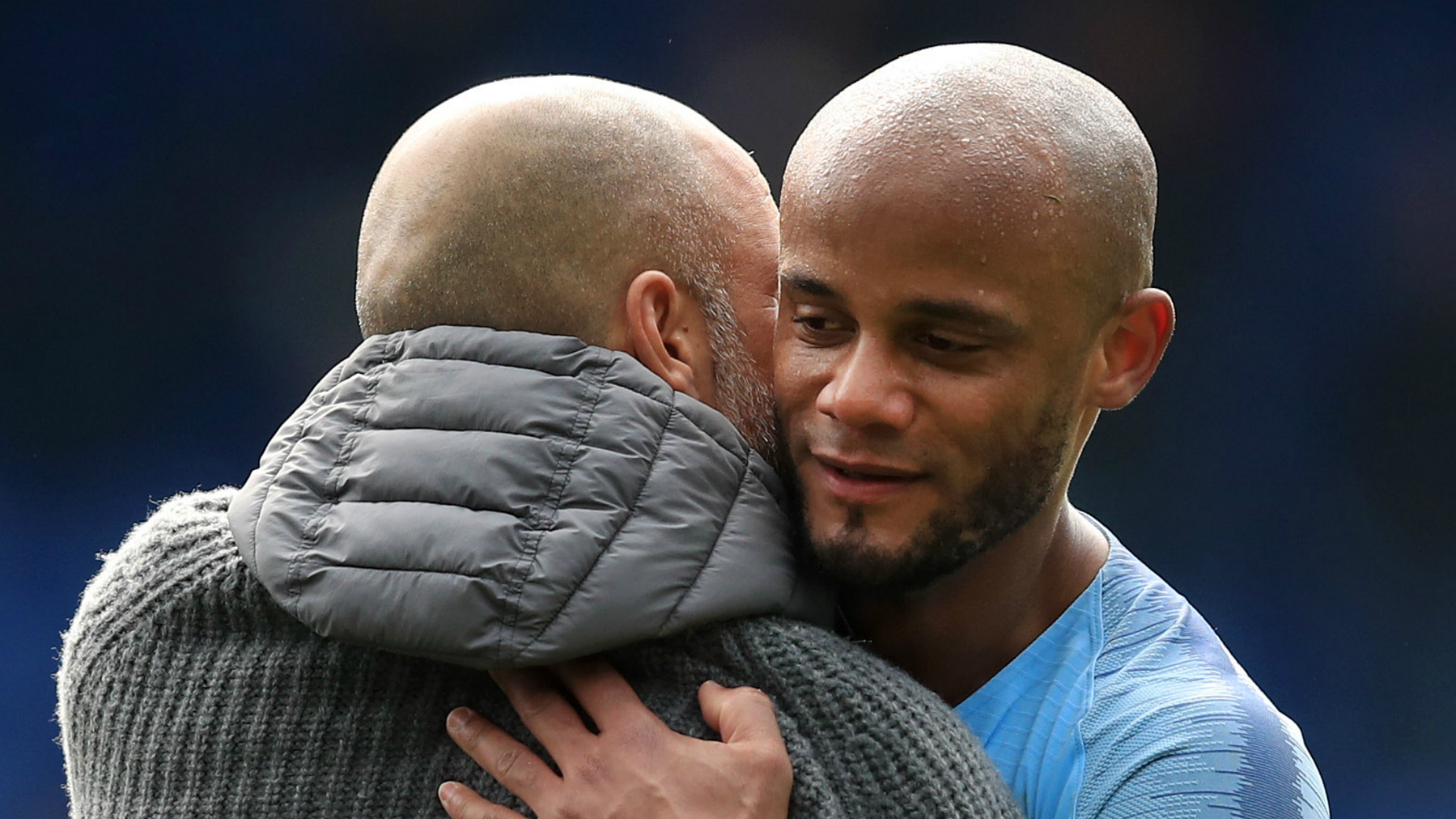 "Agreeing a new contract with Manchester City is ""not a priority"" for Vincent Kompany amid a key run of matches in their quadruple chase."