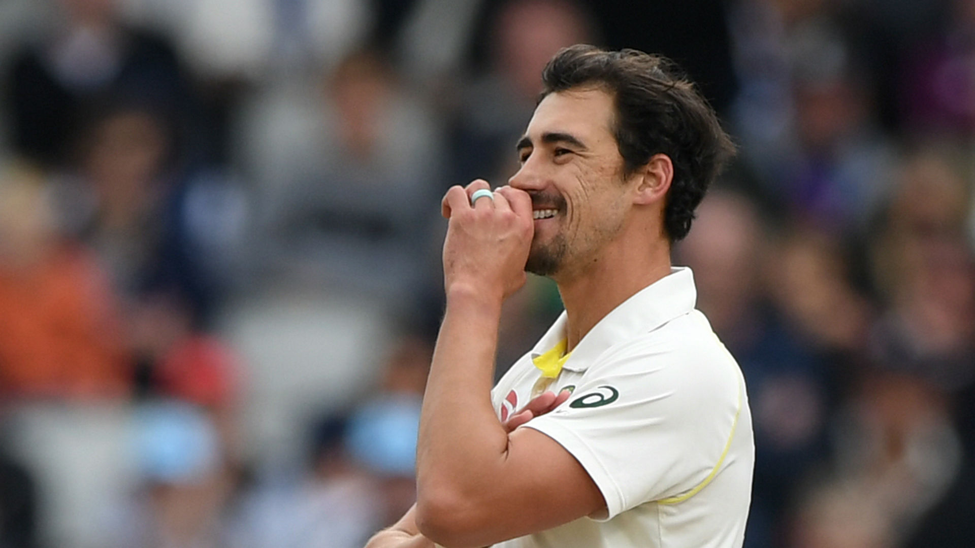 Despite scoring 54 not out and finishing with respectable bowling figures at Old Trafford, Mitchell Starc has been dropped by Australia.