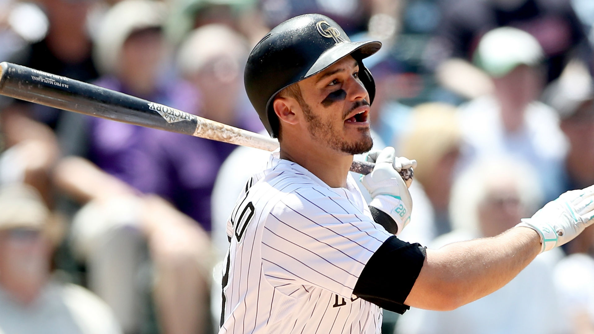 Nolan Arenado wants a massive deal in arbitration this year.