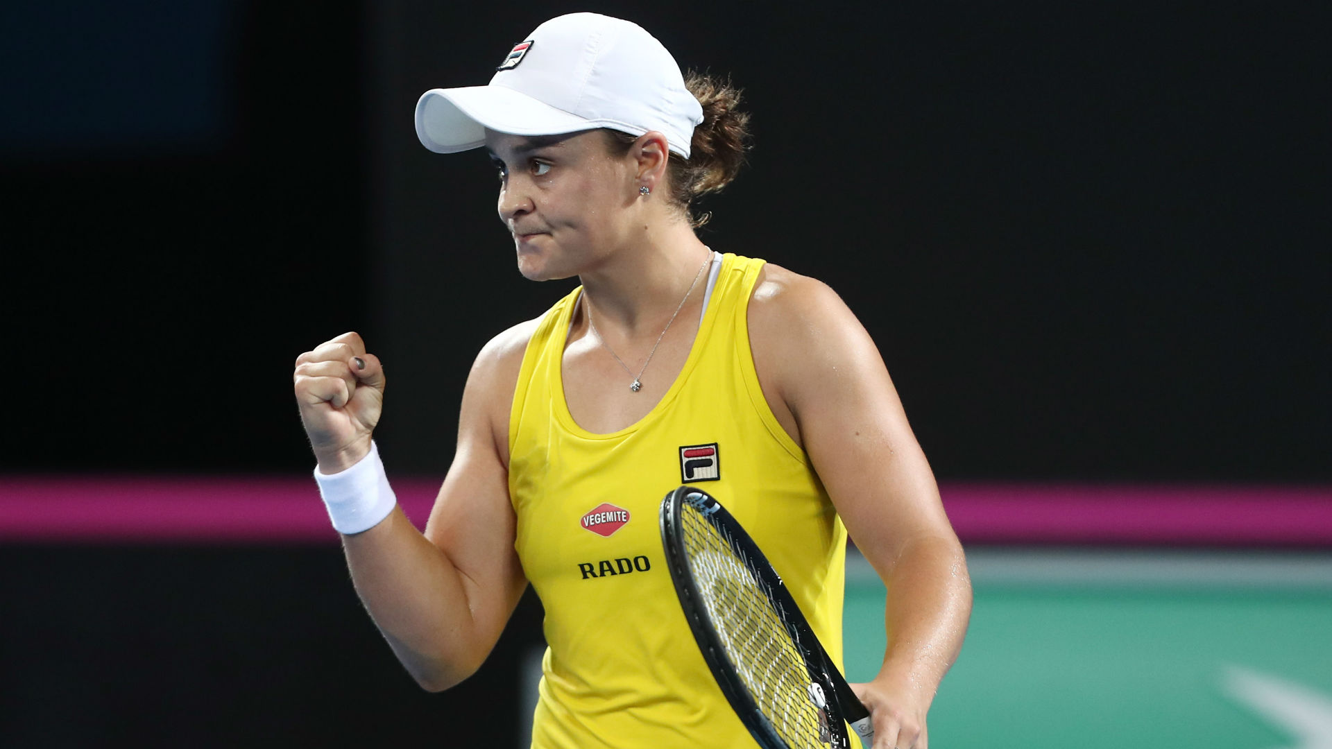 Barty levels up Fed Cup semi