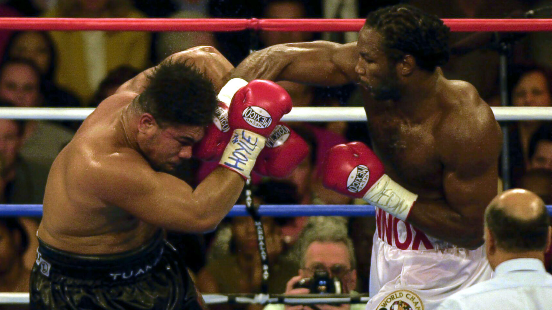 Ahead of Anthony Joshua's fight with Joseph Parker, we turn the clock back and remember the time Lennox Lewis took on David Tua.